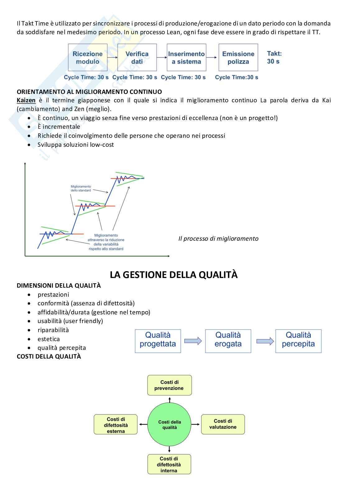 Gestione della produzione e logistica Pag. 21