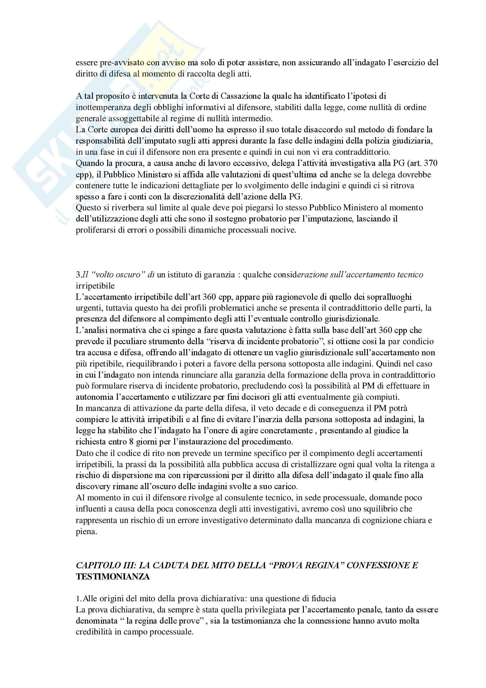 Appunto con sunto per l'esame di procedura penale del prof Marafioti/Paolozzi/Luparia. libro consigliato: Errore giudiziario e background processuale Pag. 6