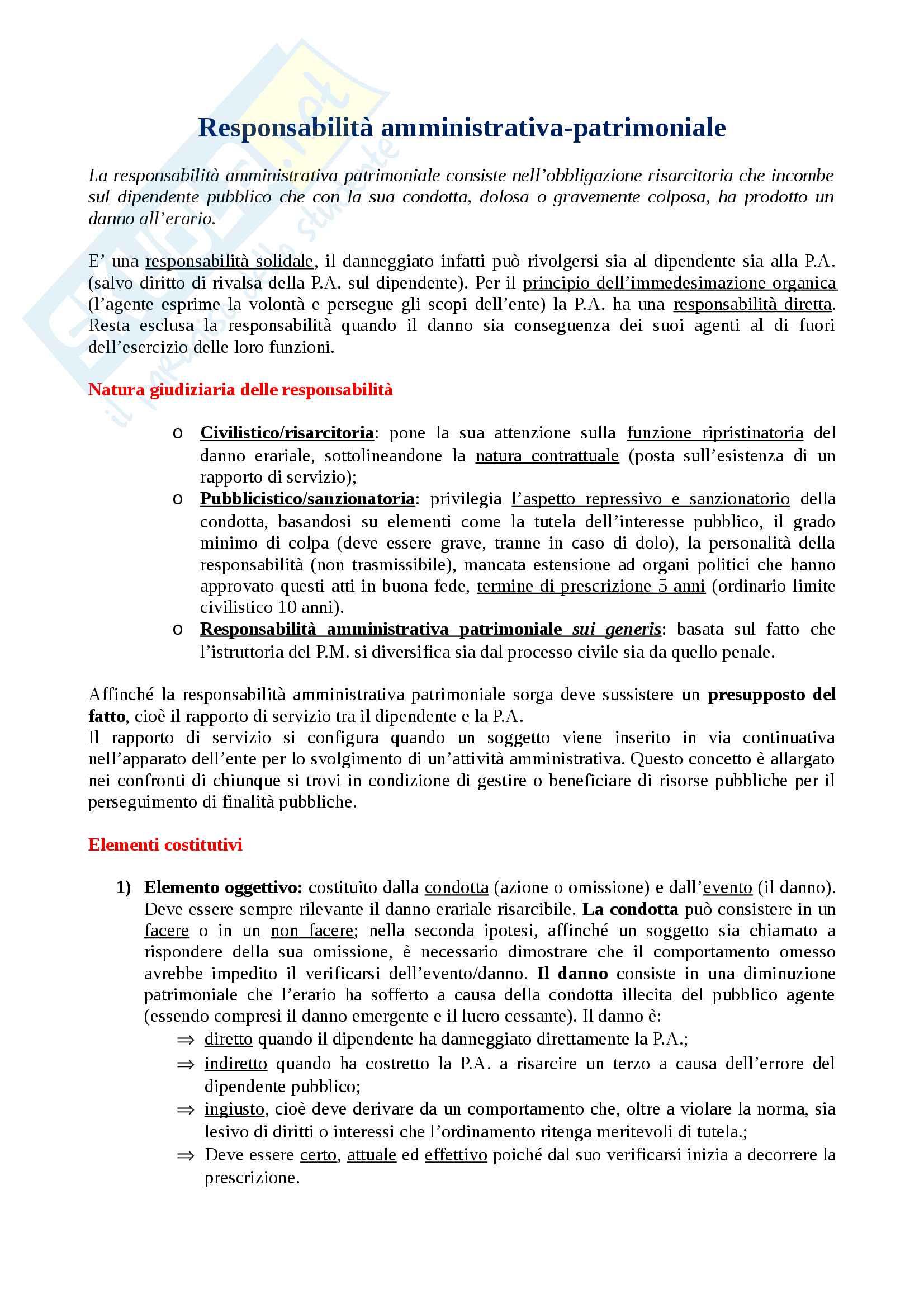 appunto M. Mirabella Diritto delle istituzioni pubbliche