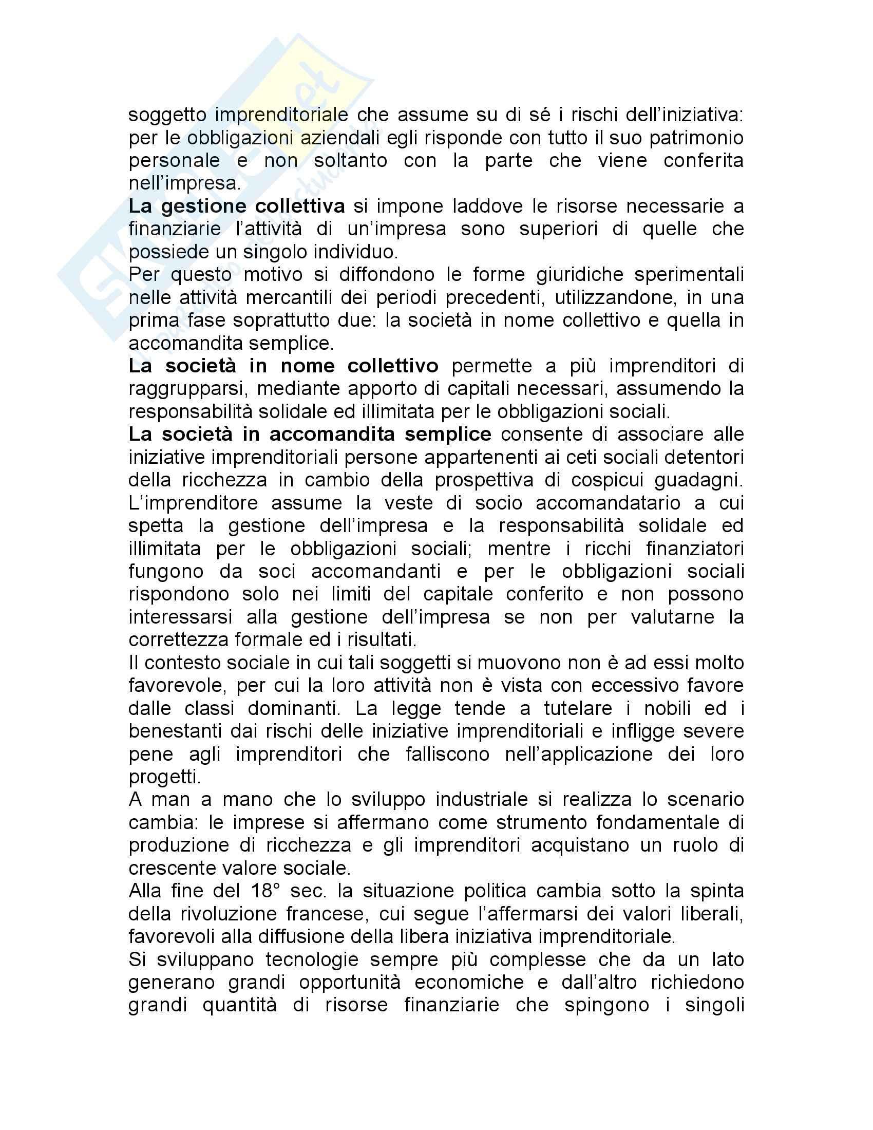 Riassunto esame Economia Aziendale e Organizzazione, prof. Muserra, libro consigliato Economia Aziendale, Volume 2, Cavalieri Pag. 2