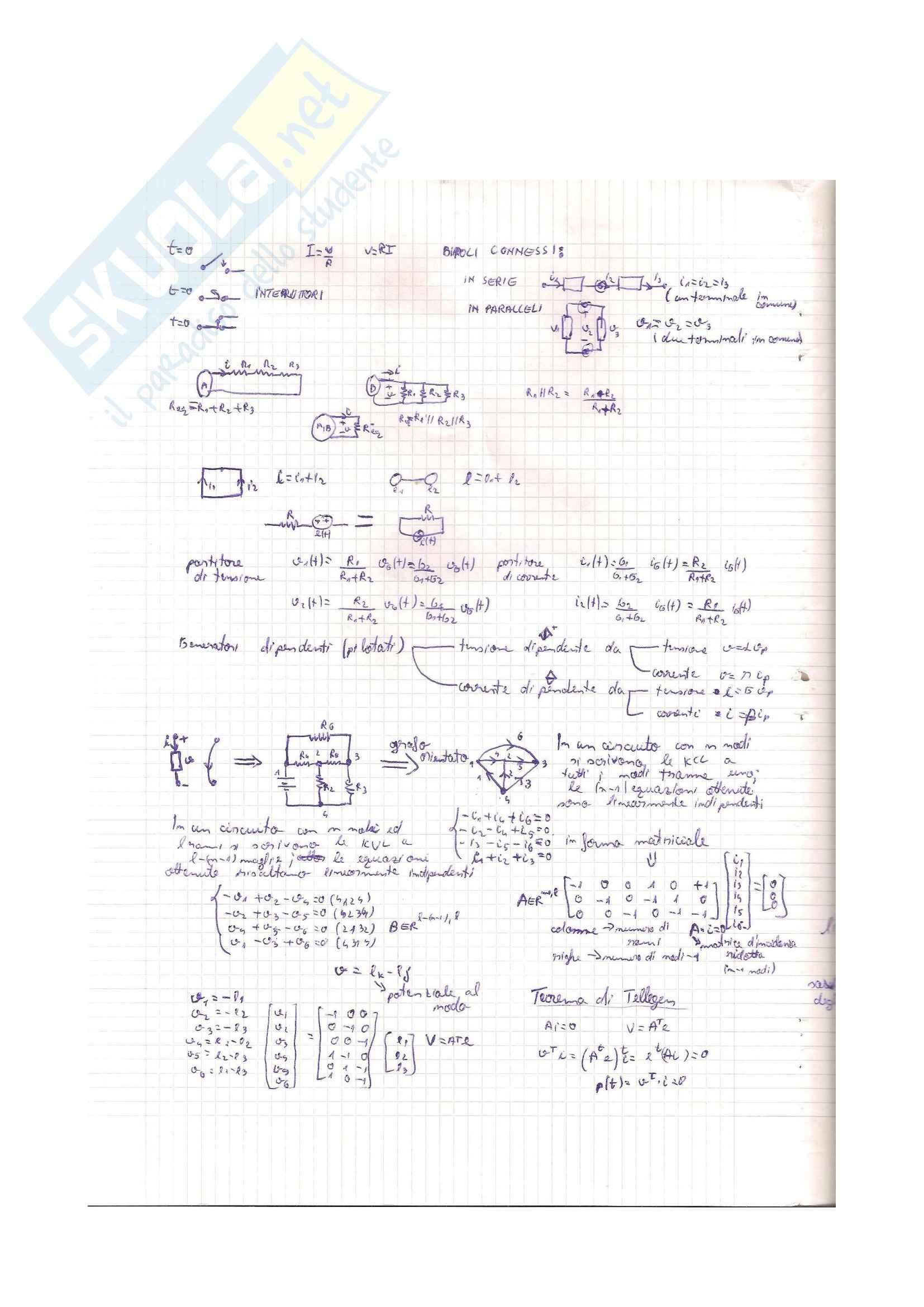 Elettrotecnica - formulario Pag. 2