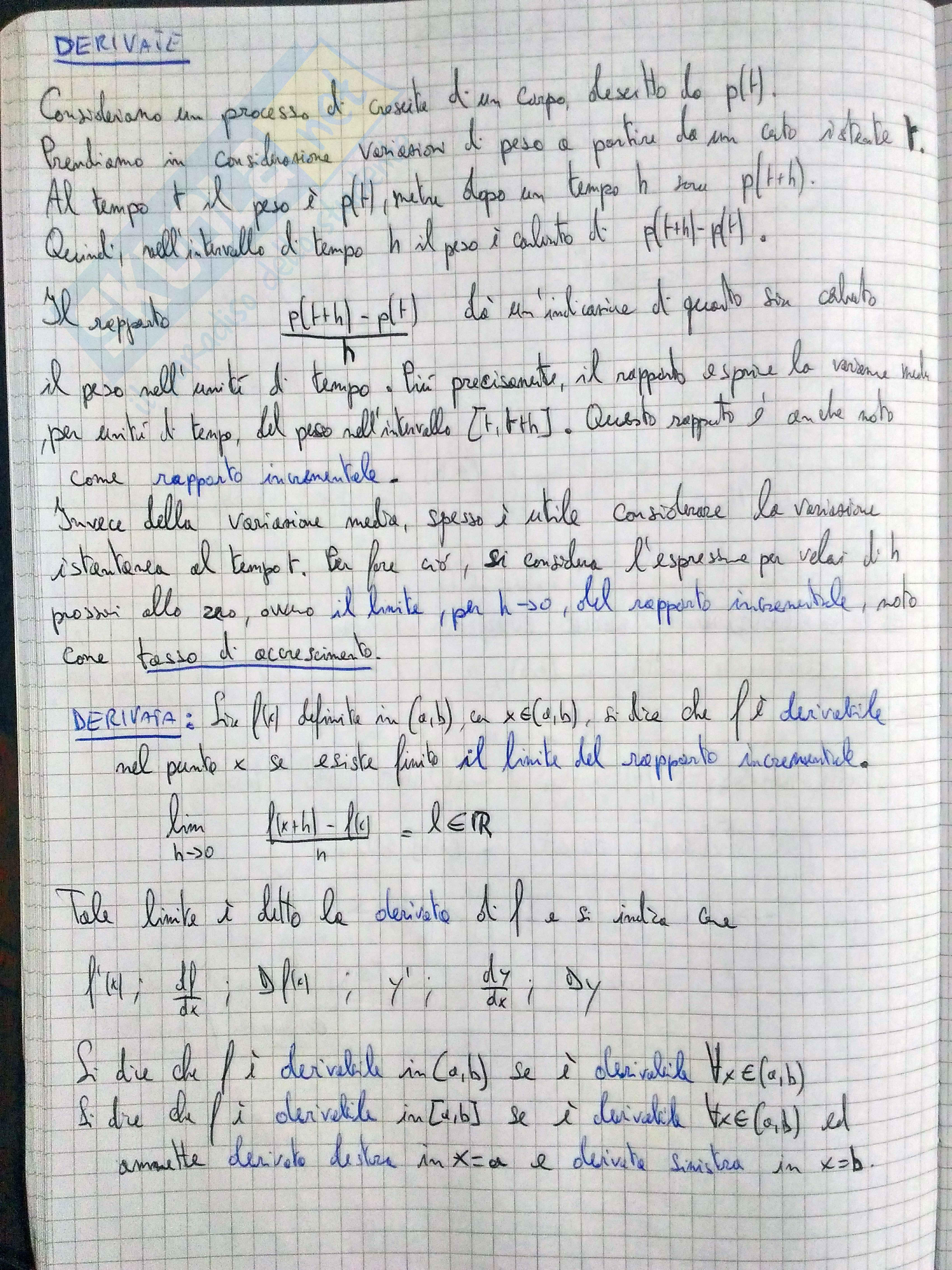 Analisi Matematica I Carlo Nitsch: Teoria completa per prova orale Pag. 26