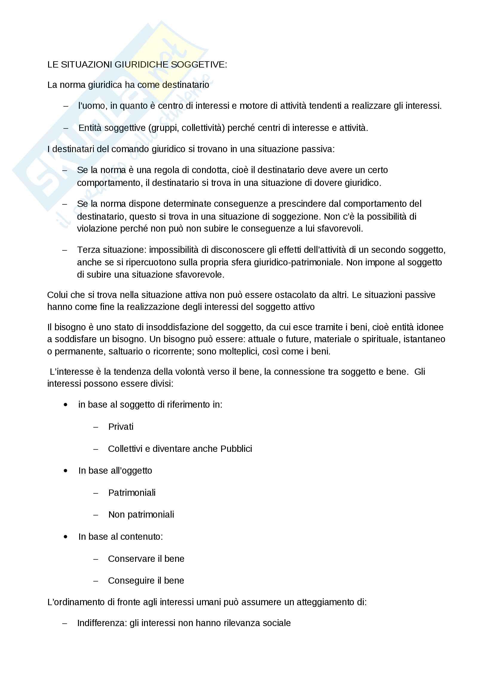 appunto F. Gazzoni Istituzioni giuridiche