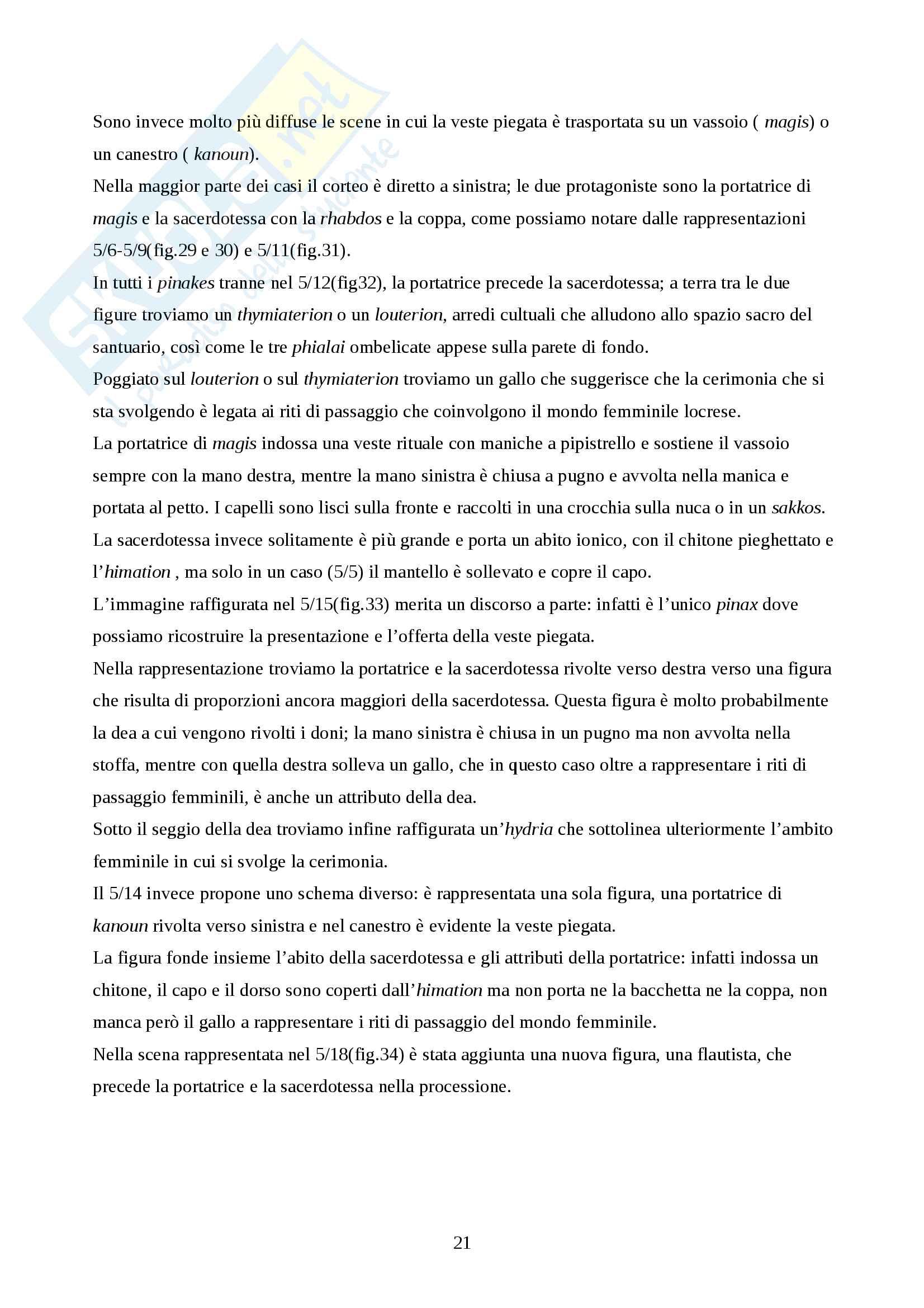 Tesi di laurea triennale I pinakes di Locri Epizefiri Pag. 21