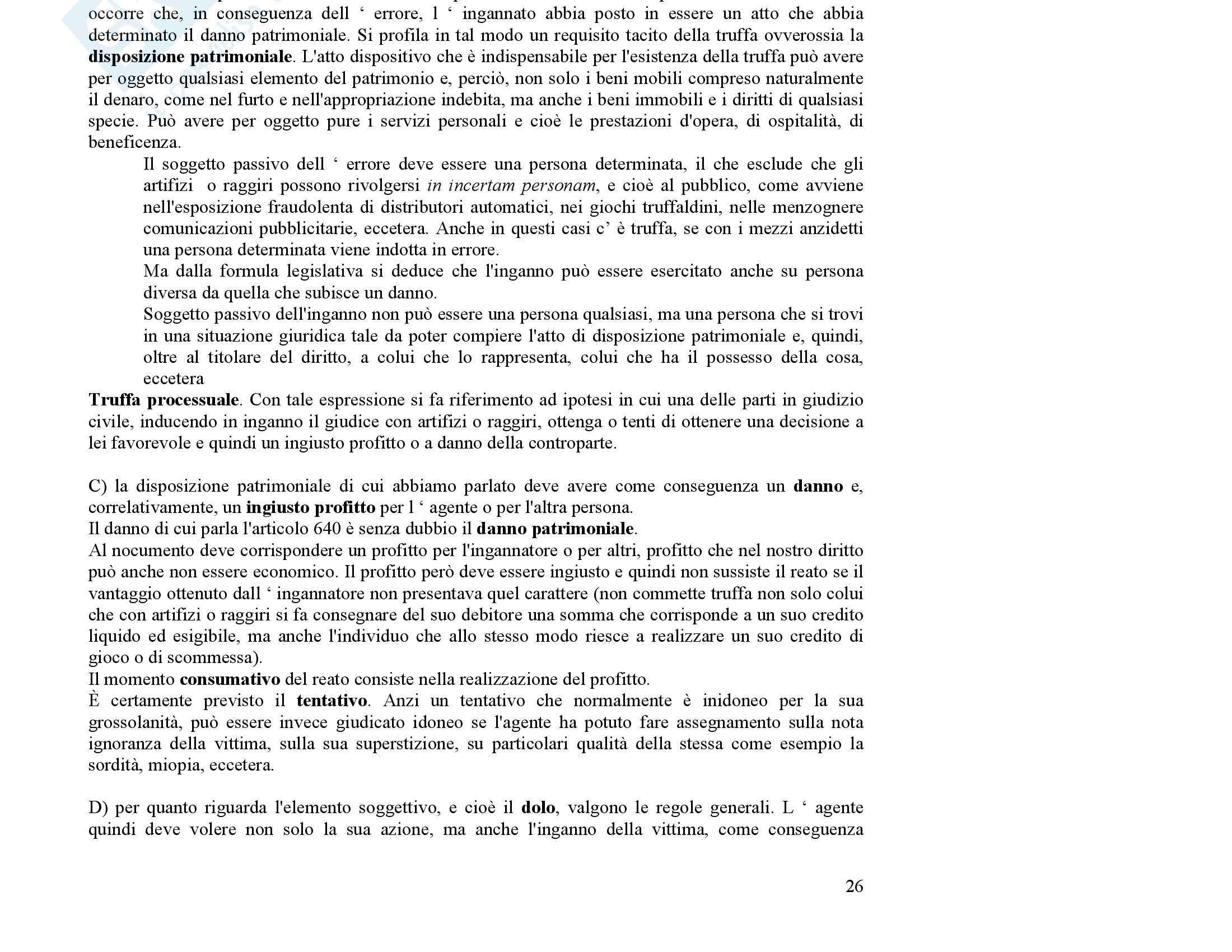 Diritto penale - i reati Pag. 11