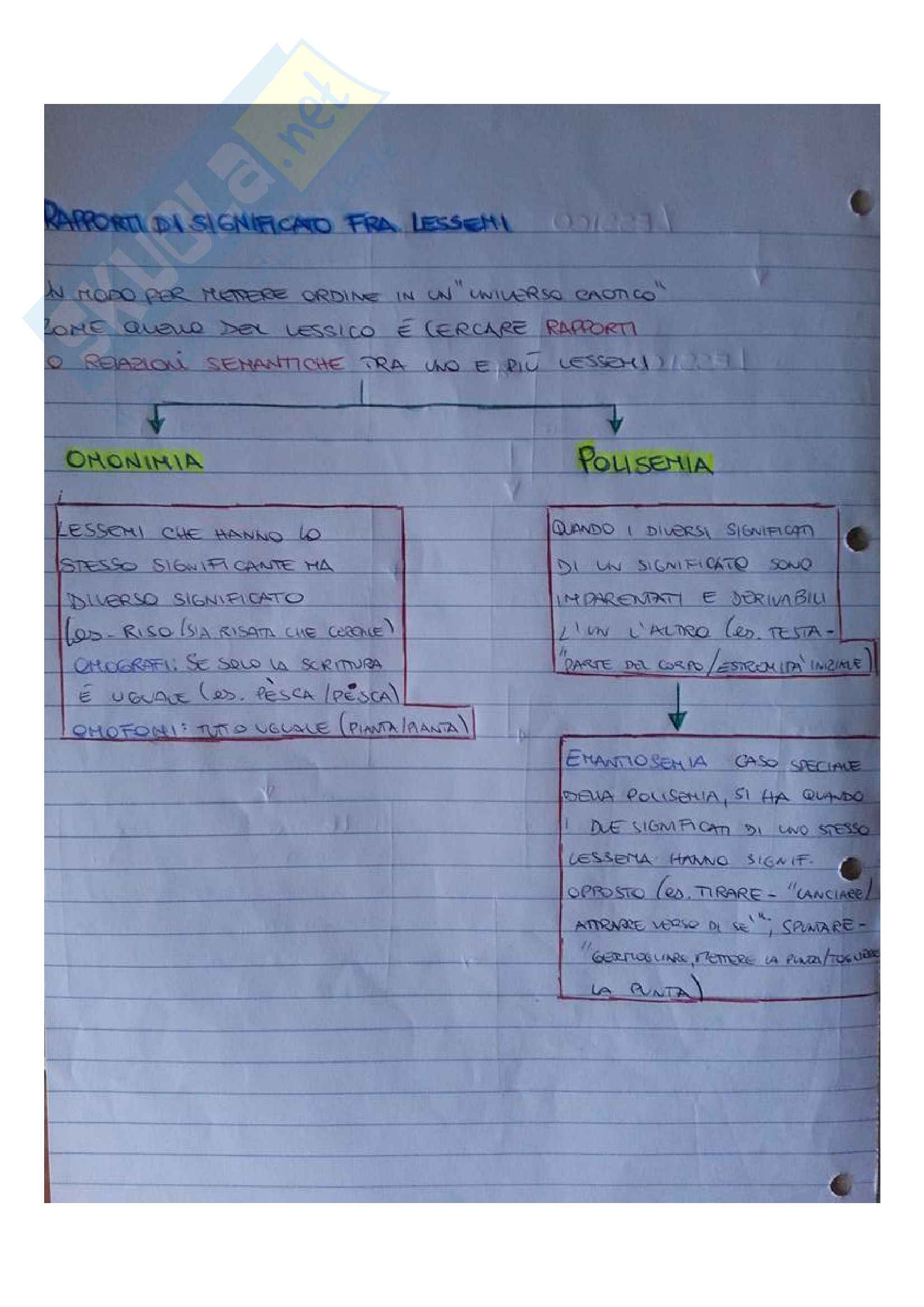 Morfologia: sintassi semantica Pag. 31