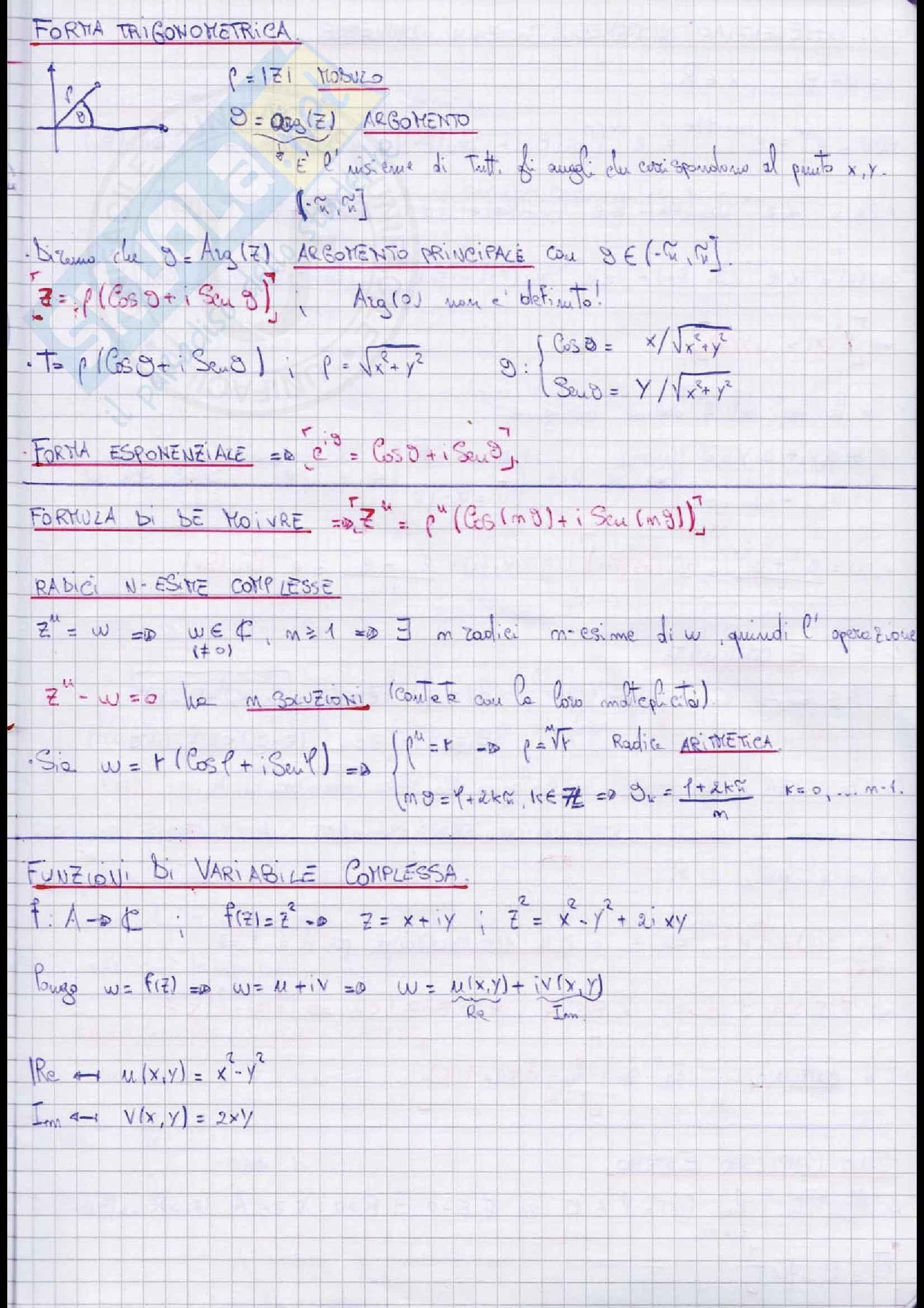 Appunti Lezioni Completi Teoria analisi 2 Pag. 2