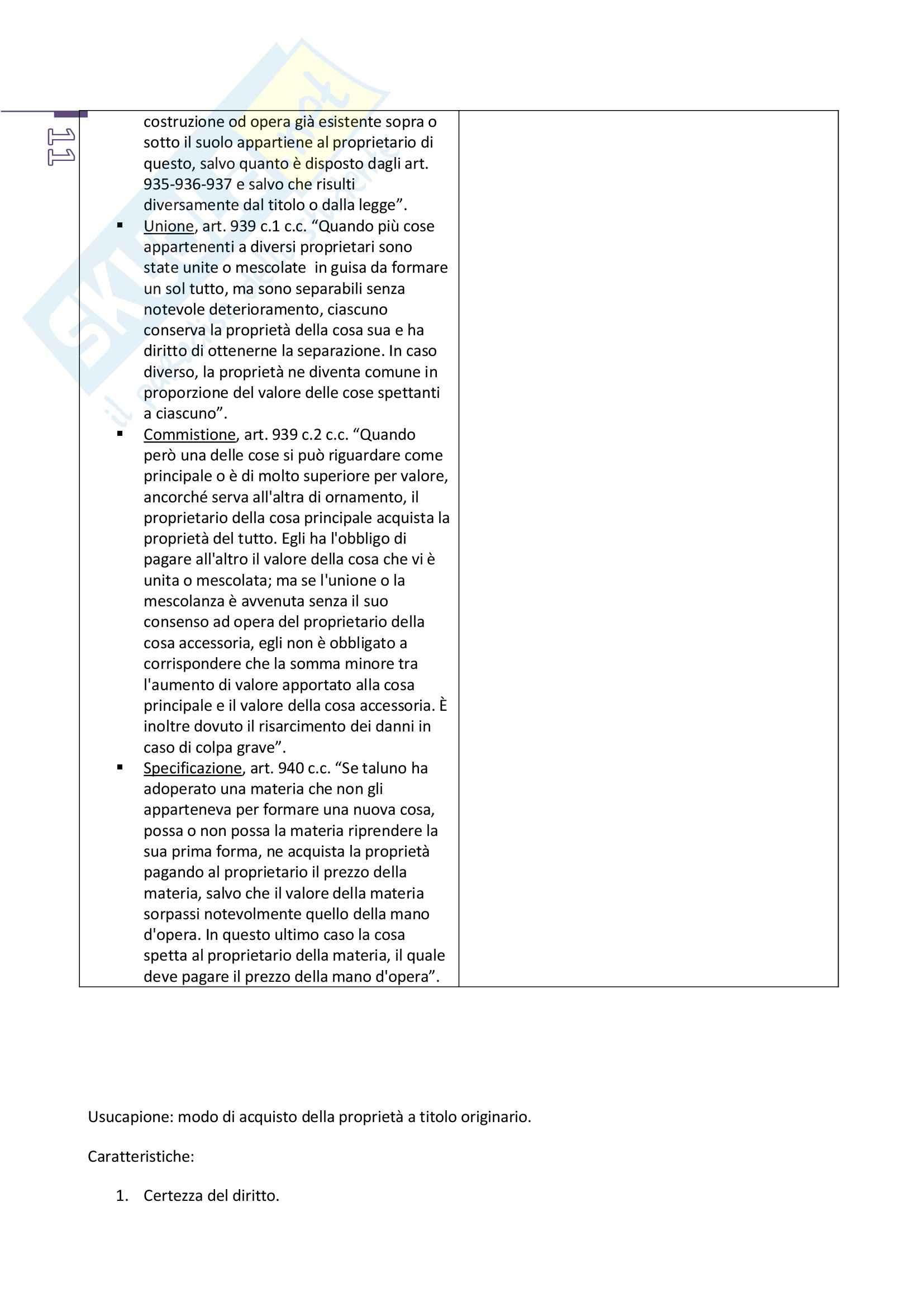 Appunti di diritto privato 2, prof. Benacchio (unitn) Pag. 11