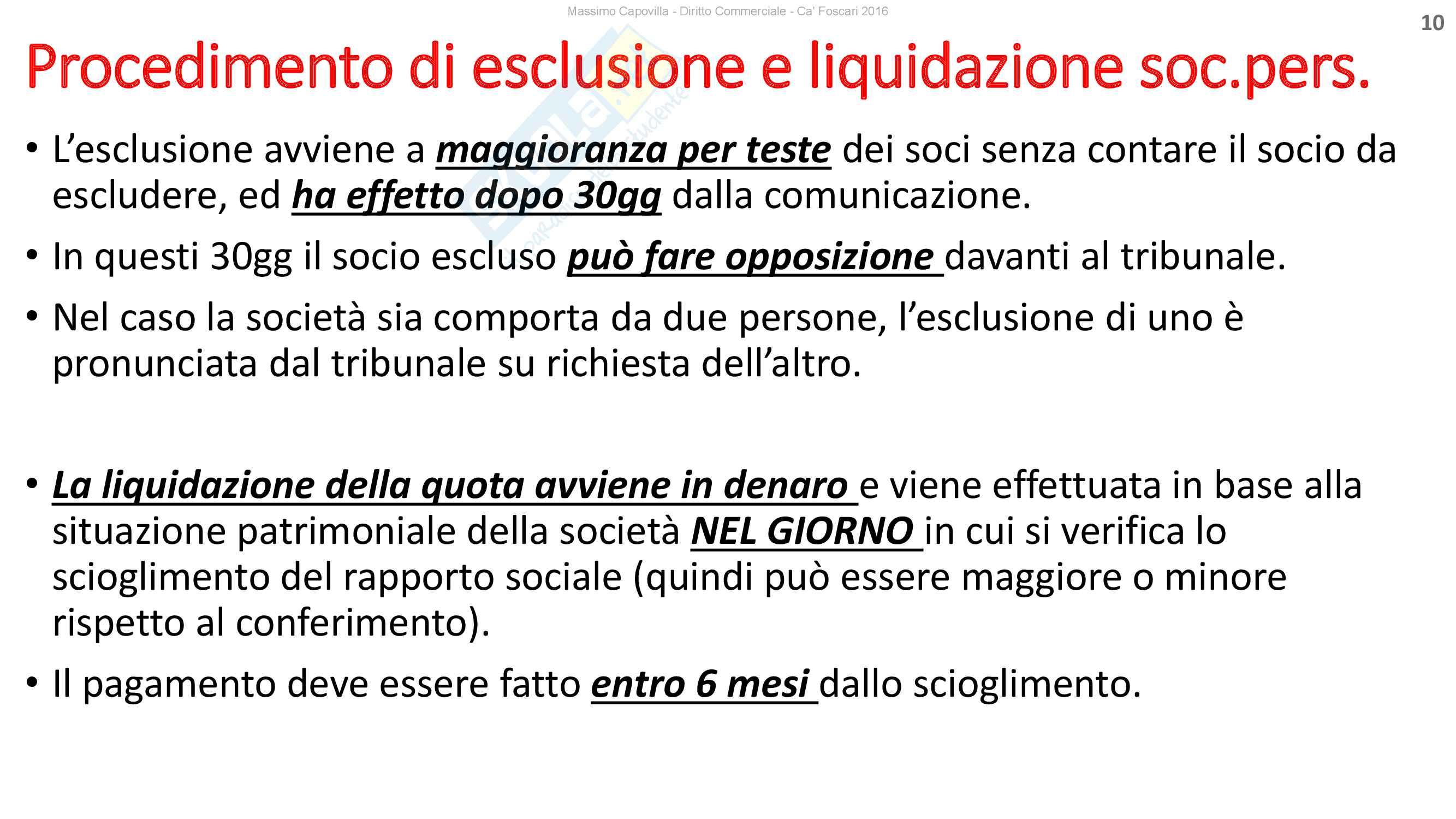 Diritto Commerciale, Domande e Risposte, Lorenzo De Angelis Pag. 11