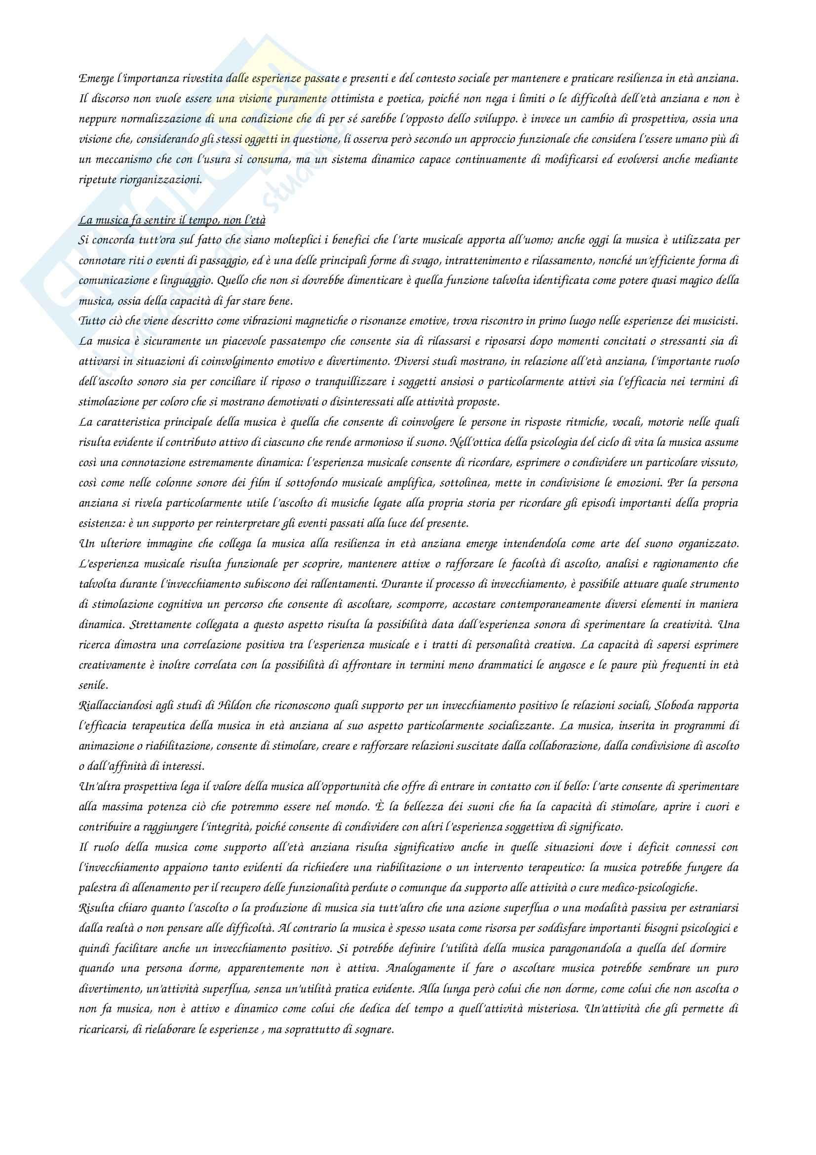 Riassunto esame Psicologia, prof. Castelli, libro consigliato Creatività e resilienza Pag. 16
