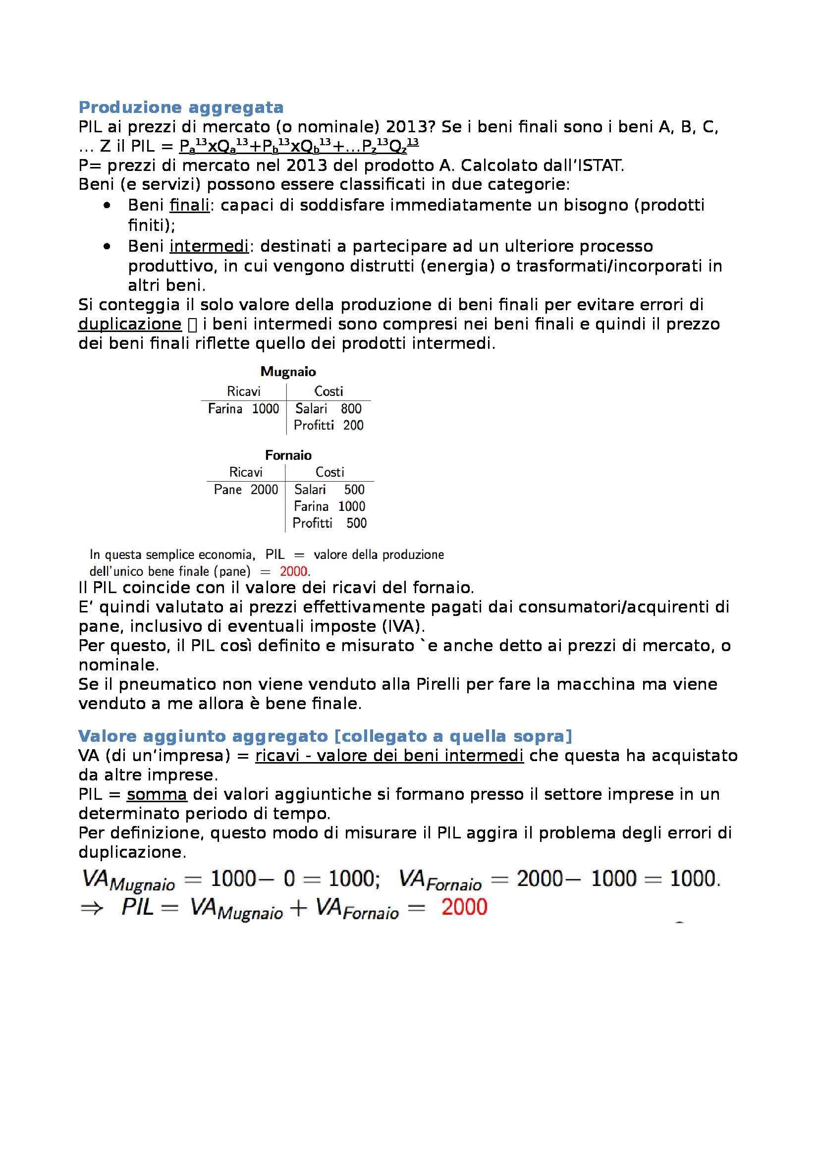 Macroeconomia - Appunti capitolo 2 Pag. 2