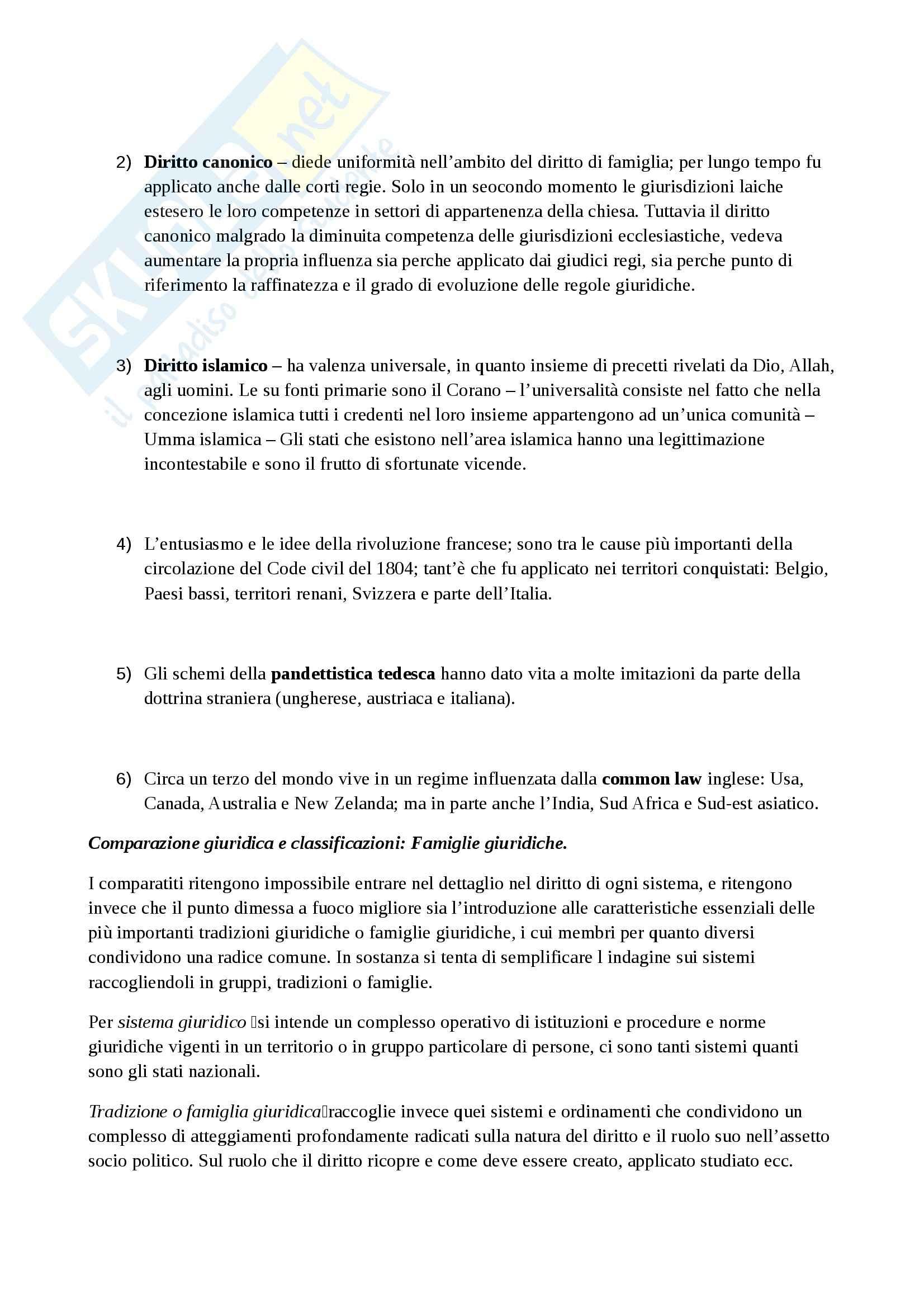 Riassunto esame Sistemi giuridici, prof. Zeno,  libro consigliato La tradizione giuridica occidentale, Varano, Barsotti Pag. 11
