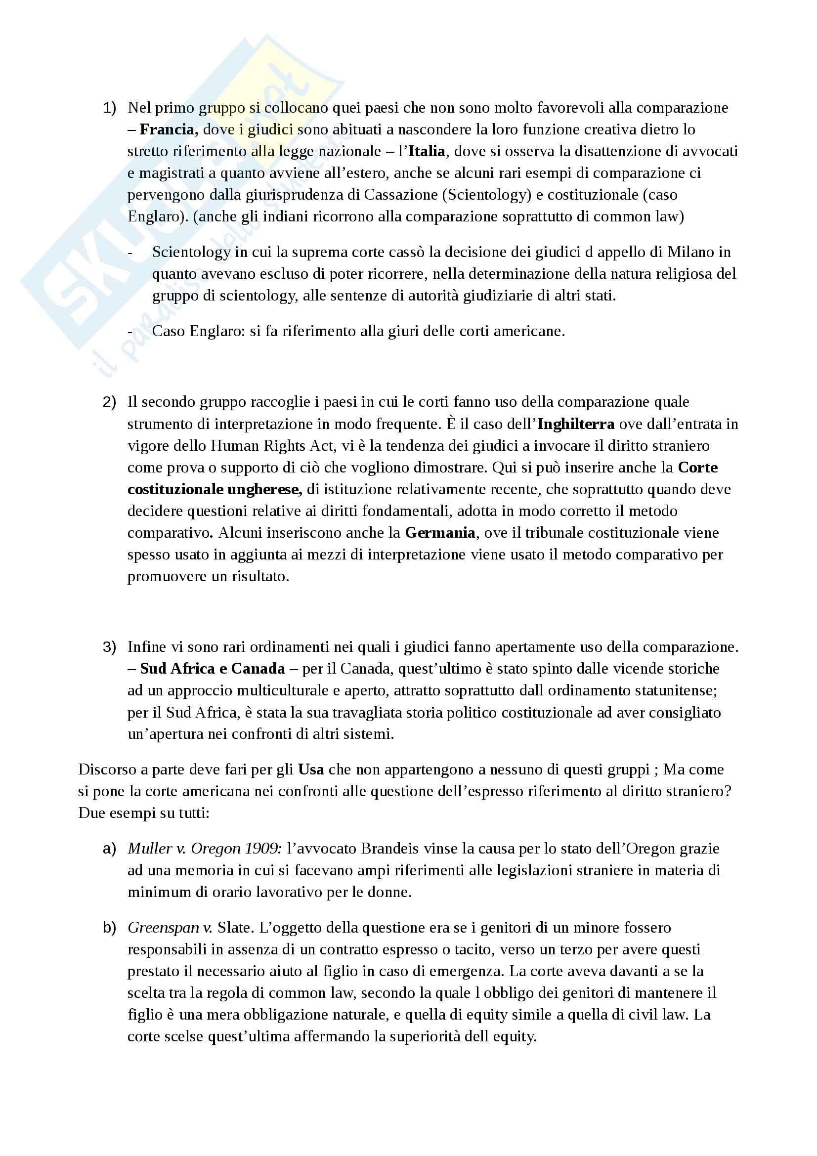 Riassunto esame Sistemi giuridici, prof. Zeno,  libro consigliato La tradizione giuridica occidentale, Varano, Barsotti Pag. 6