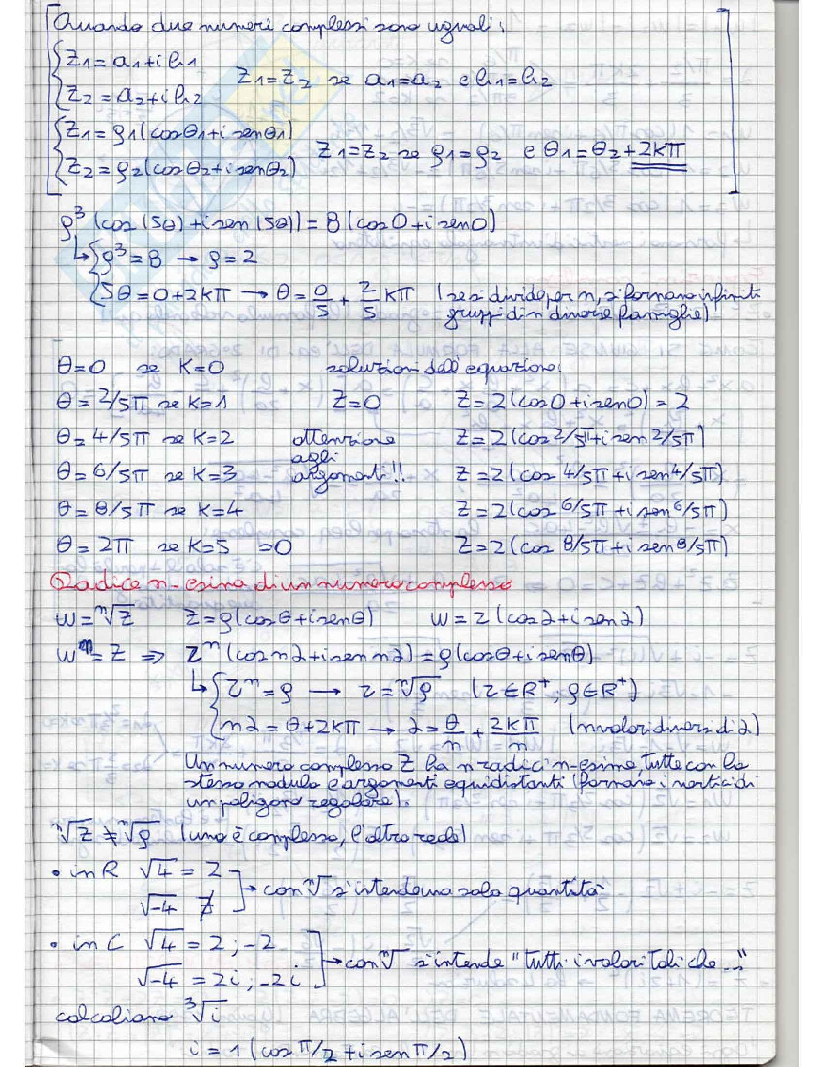Analisi e geometria 1 - appunti Pag. 11