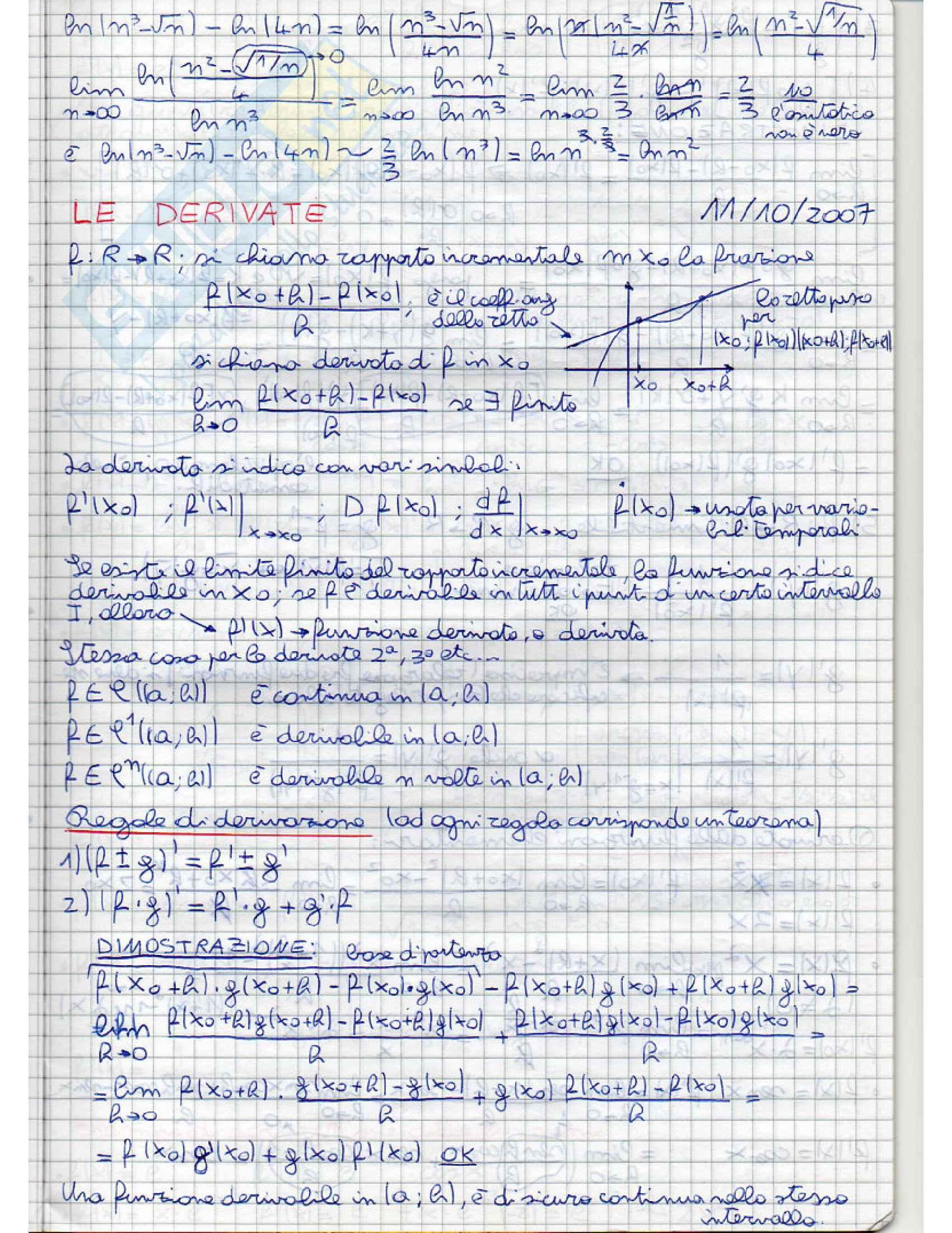 Analisi e geometria 1 - appunti Pag. 41