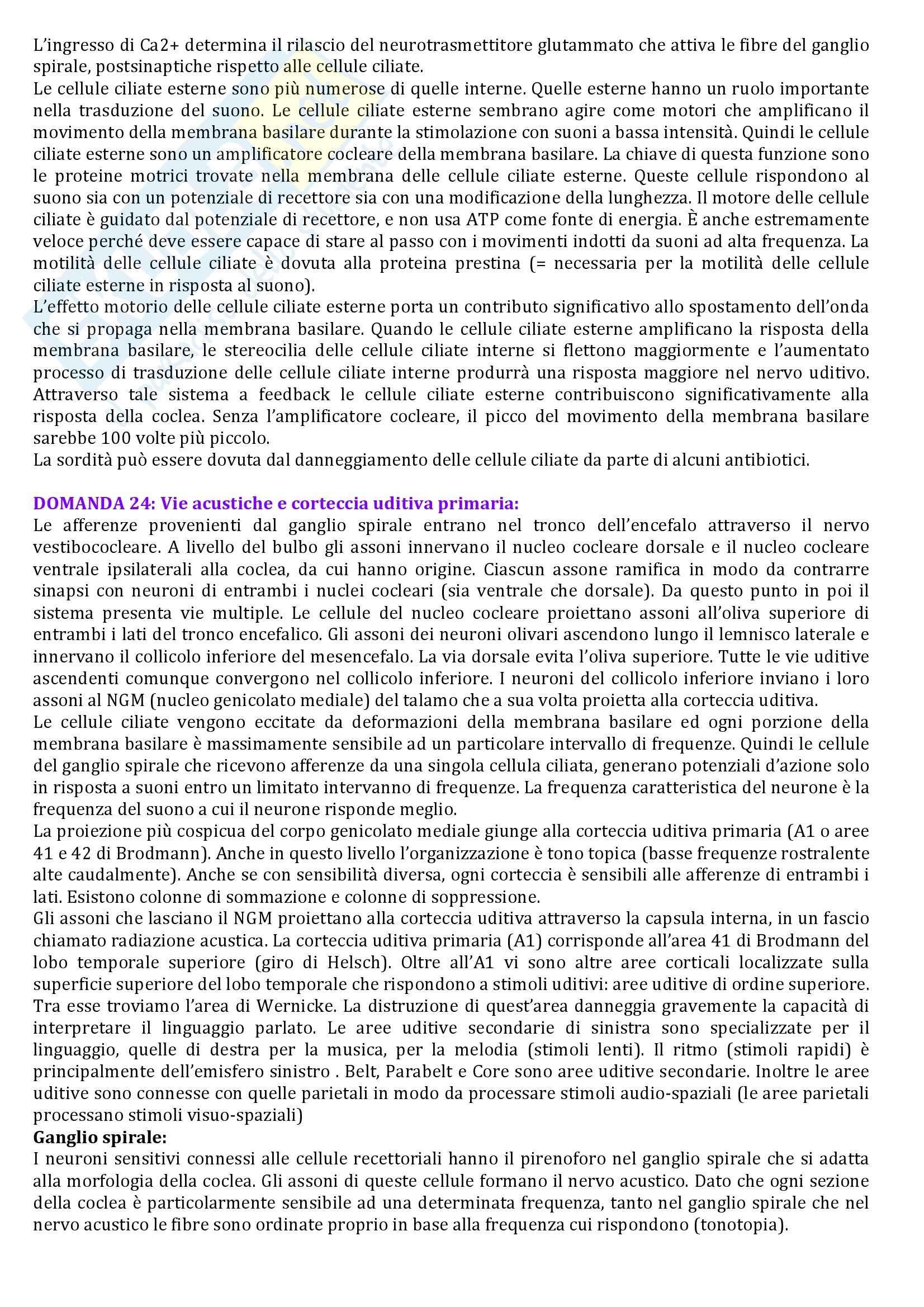 Seconda parte domande, Fisiologia Pag. 11