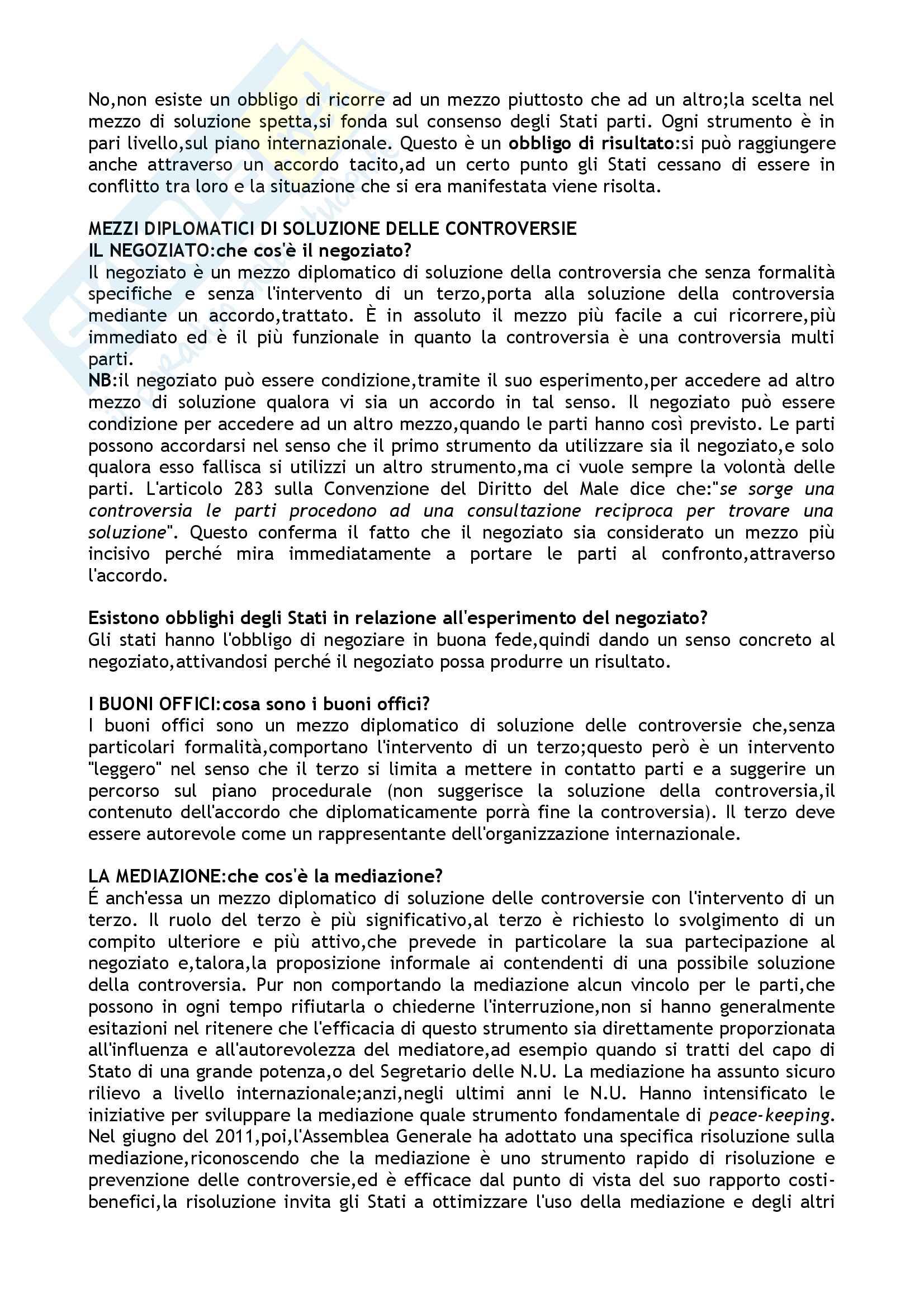 Diritto internazionale pubblico Pag. 41