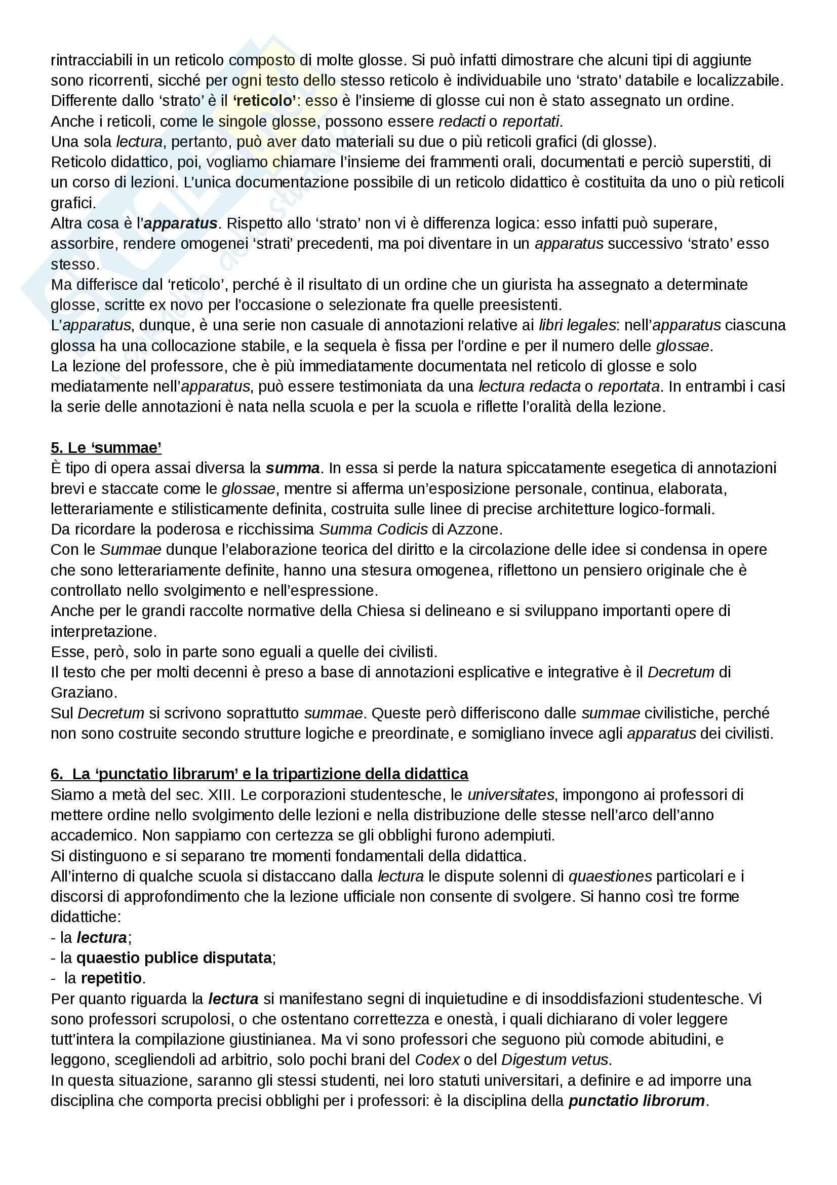 Riassunto esame Diritto, prof. Cavina, libro consigliato L'Europa del diritto comune, Bellomo Pag. 21
