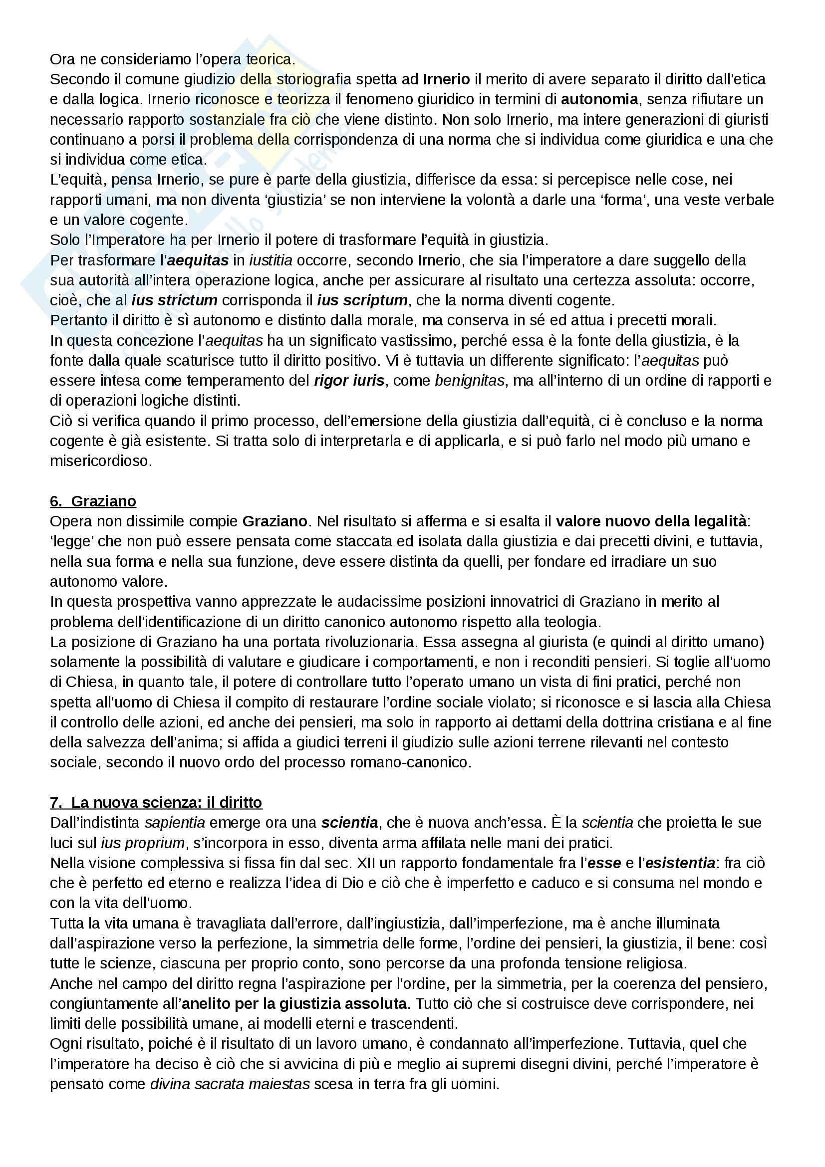 Riassunto esame Diritto, prof. Cavina, libro consigliato L'Europa del diritto comune, Bellomo Pag. 26