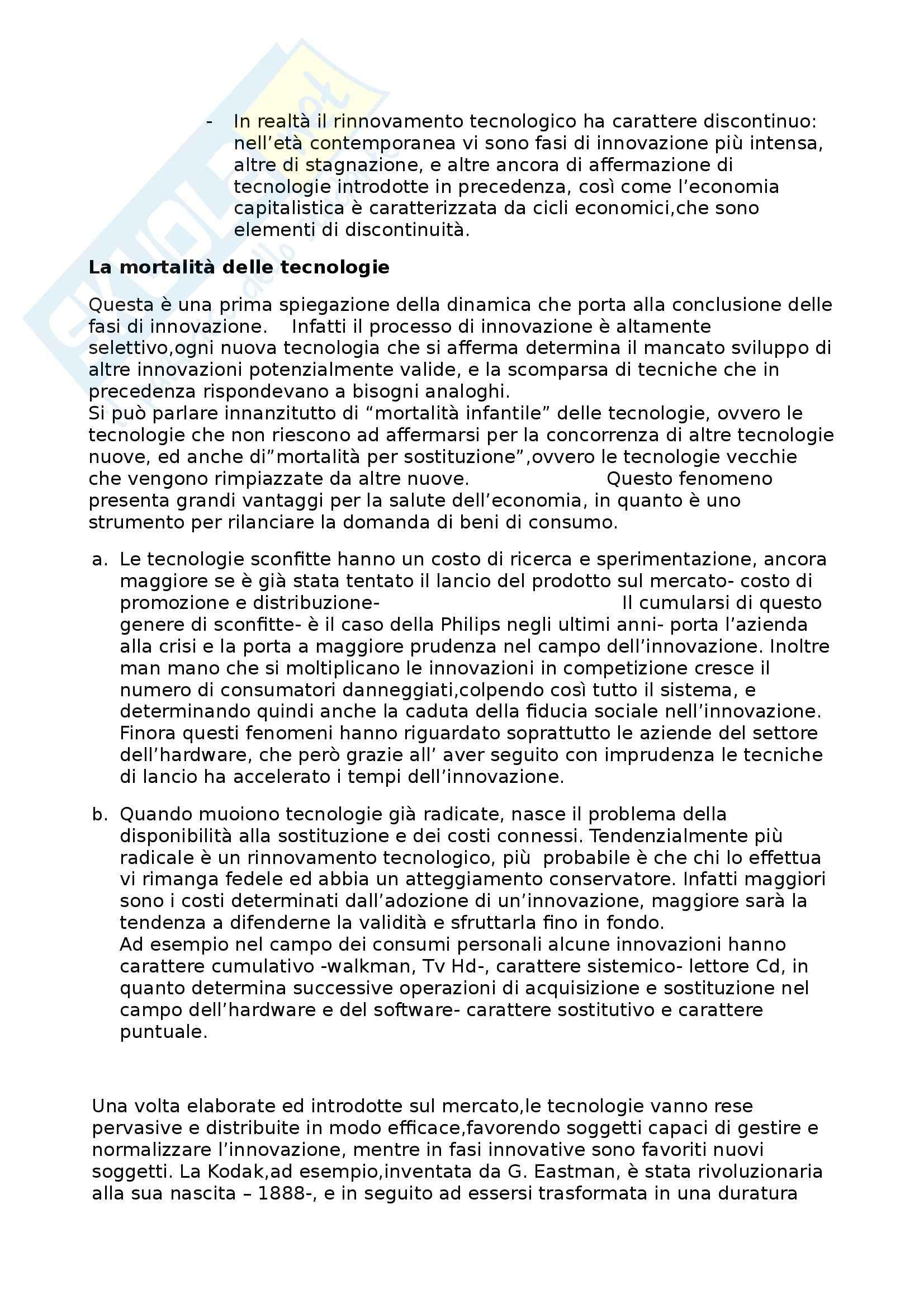 Riassunto esame Media: Storia e teoria, prof. Ortoleva, libro consigliato Mediastoria, Ortoleva Pag. 6