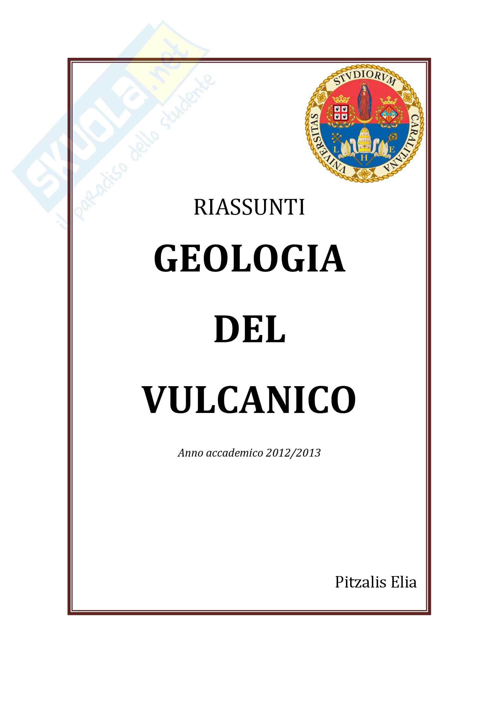 Geologia del Vulcanico