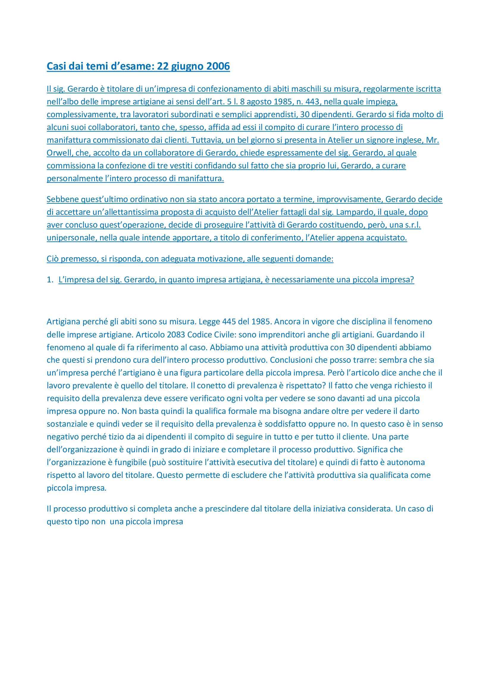 Diritto commerciale - diritto delle imprese Pag. 21