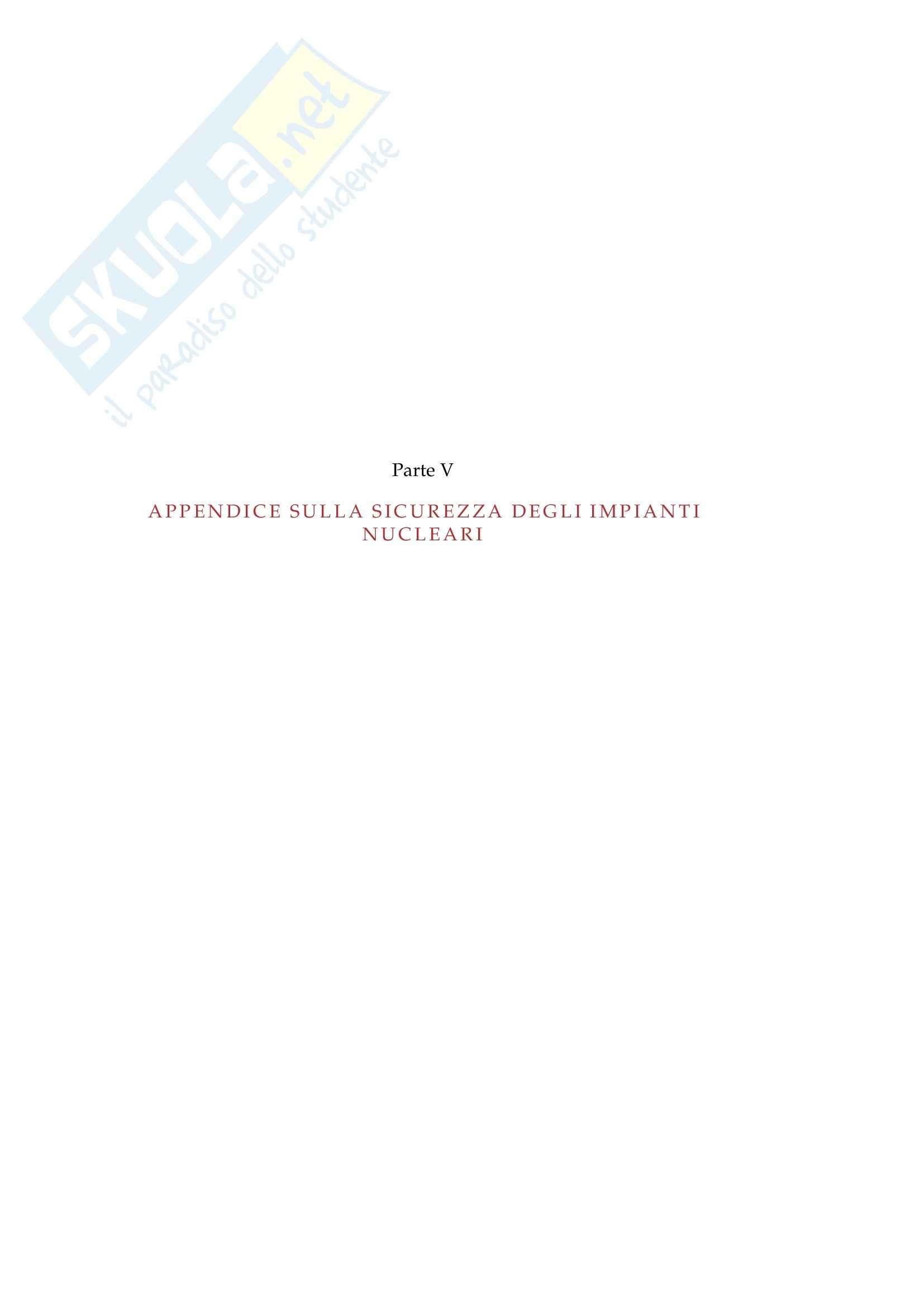 Complementi di centrali termoelettriche, nucleari e regolazione - centrali nucleari Pag. 71
