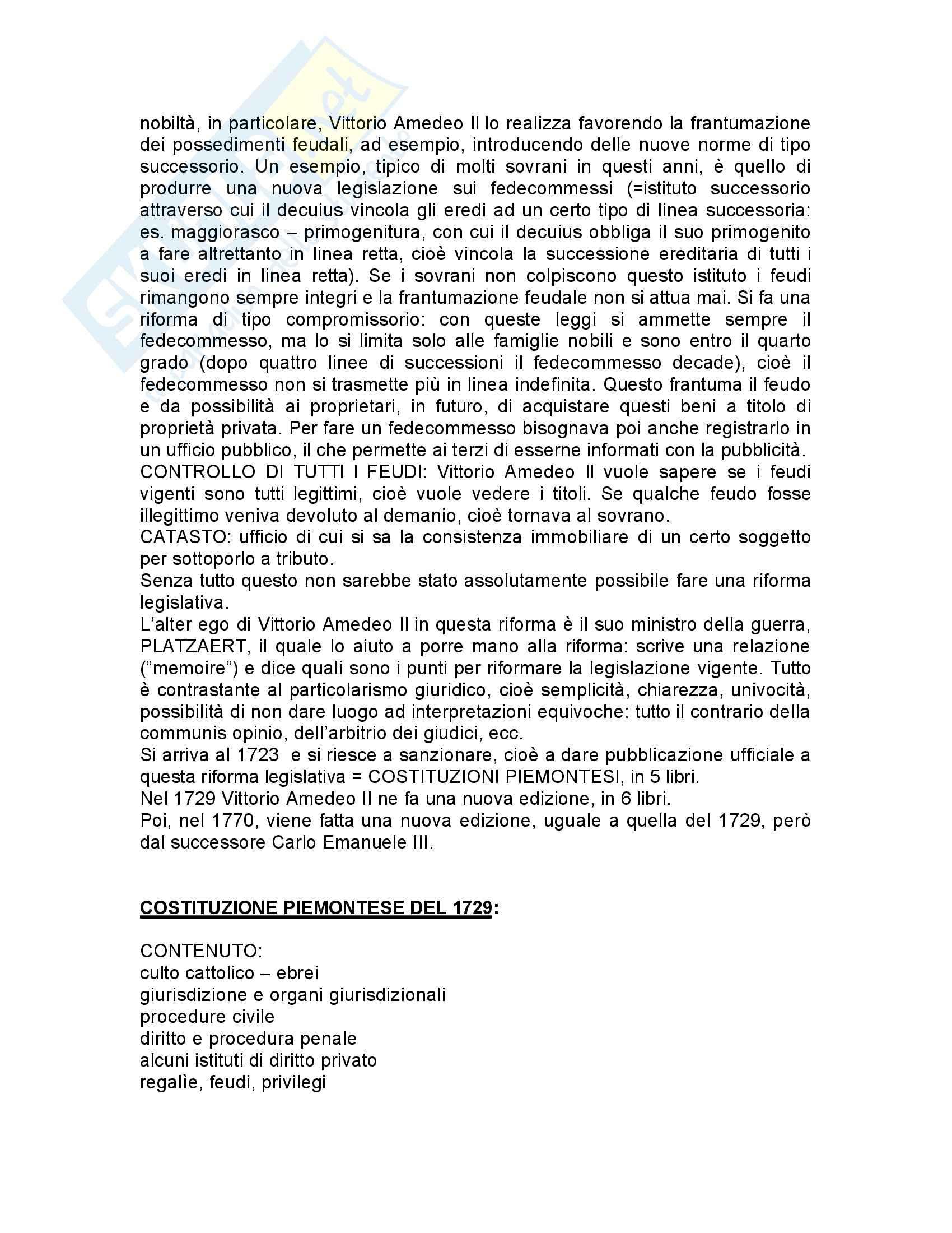 Storia del diritto italiano medievale e moderno Pag. 86