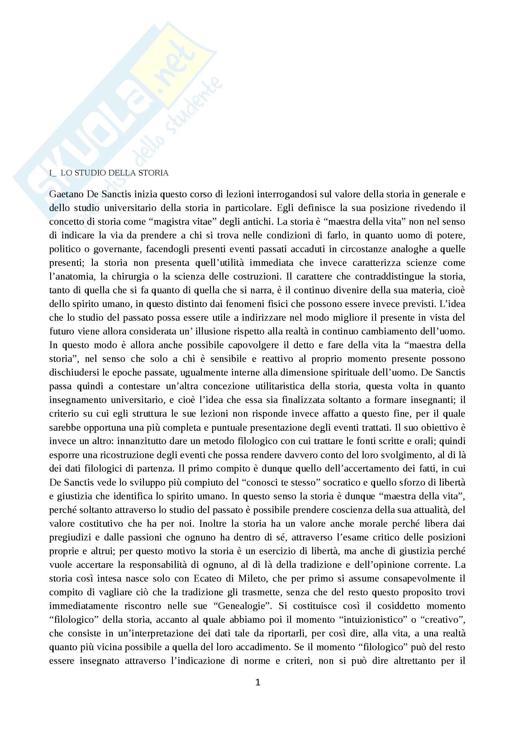 Riassunto esame Storia Greca, prof. Costa, libro consigliato Filippo e Alessandro, De Sanctis
