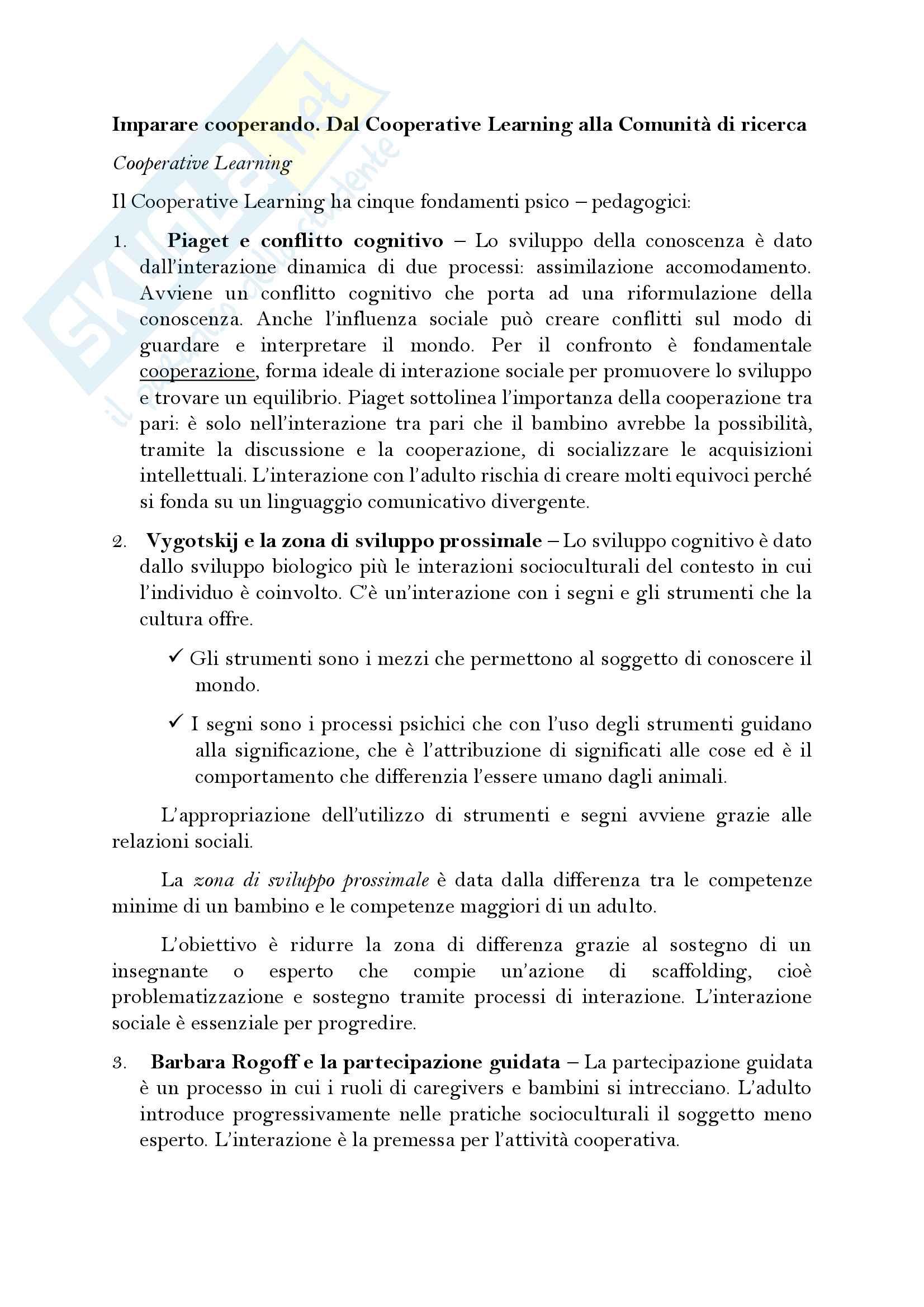 appunto L. Ariemma Modelli e processi formativi