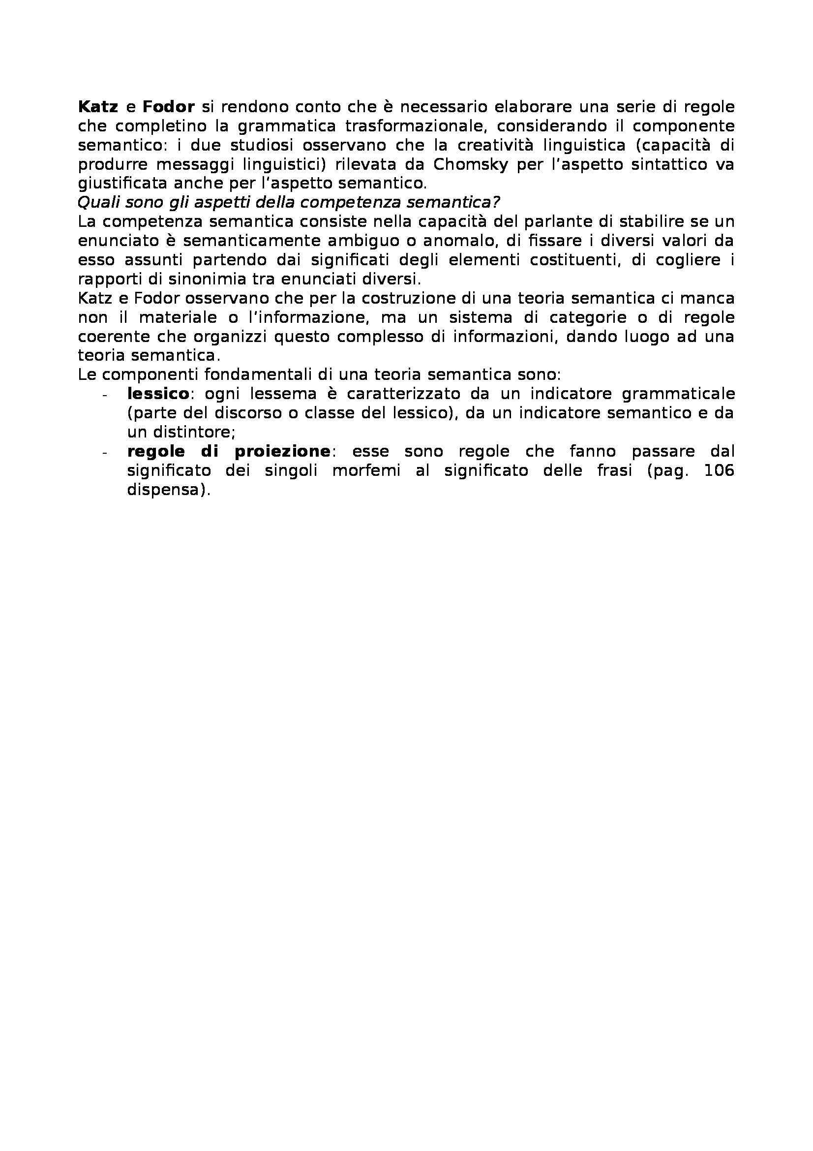 Riassunto esame Linguistica generale, prof. Gatti, libro consigliato Storia della linguistica generale Pag. 31