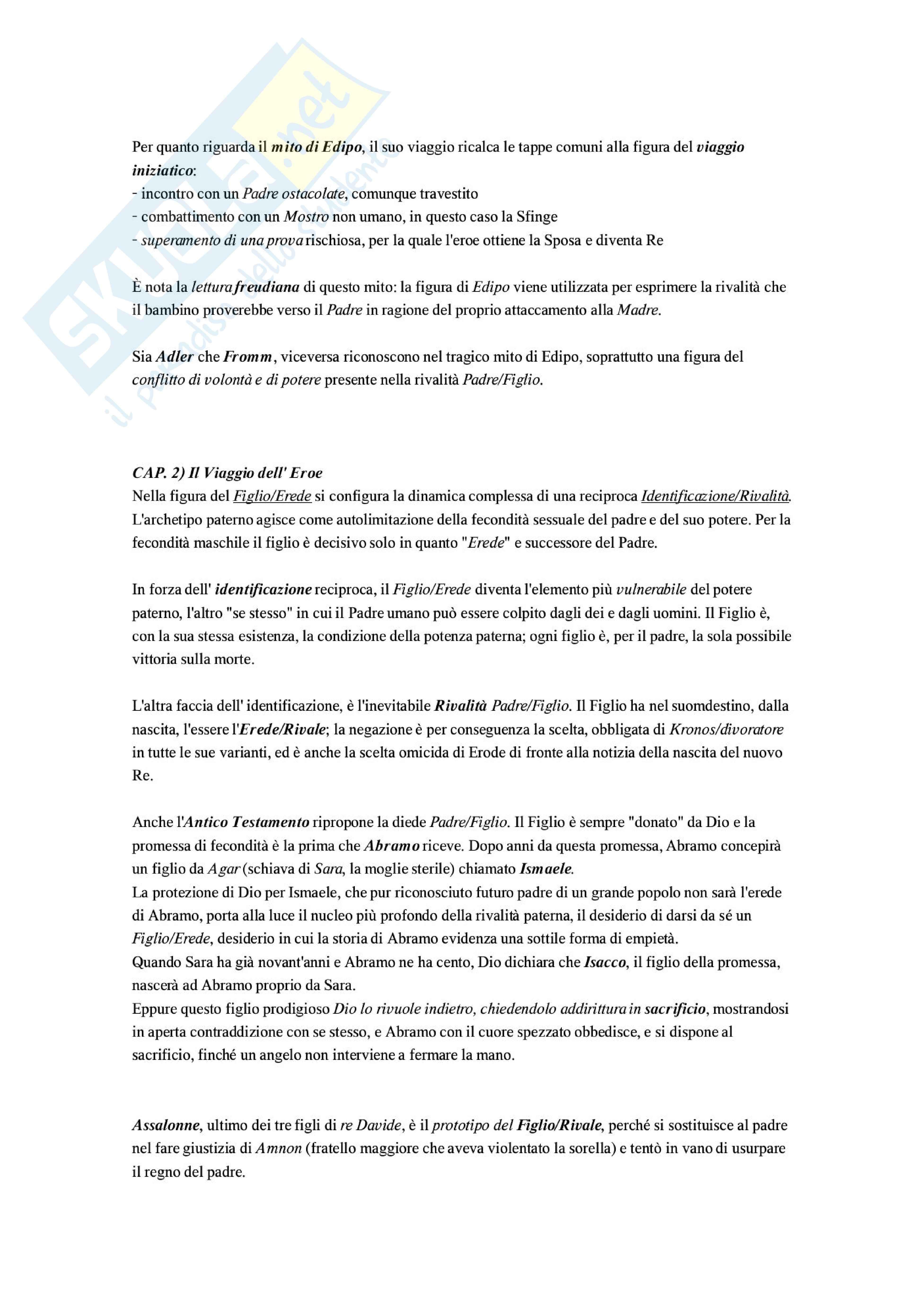 Riassunto esame Pedagogia, prof. Moscato, libro consigliato Il sentiero nel labirinto: Miti e metafore nel processo educativo Pag. 6