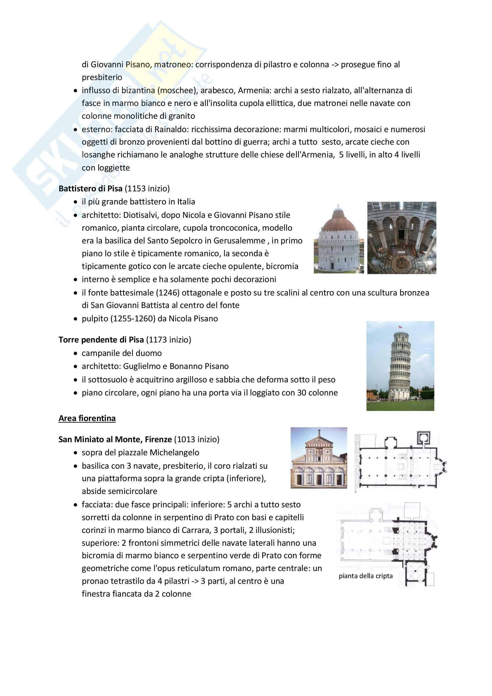 Romanico, Storia dell'architettura e del territorio Pag. 6