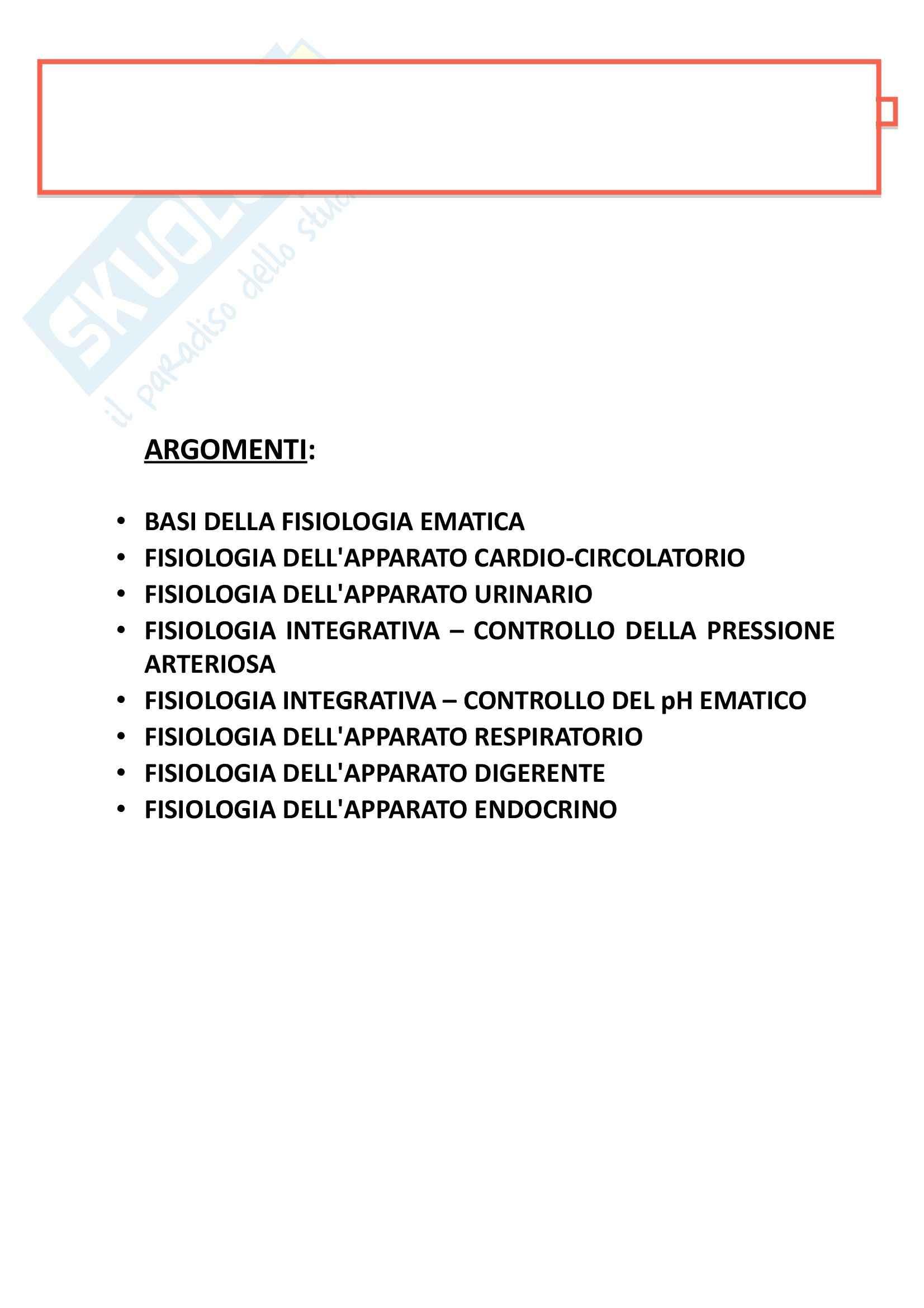 appunto C. Grassi Fisiologia