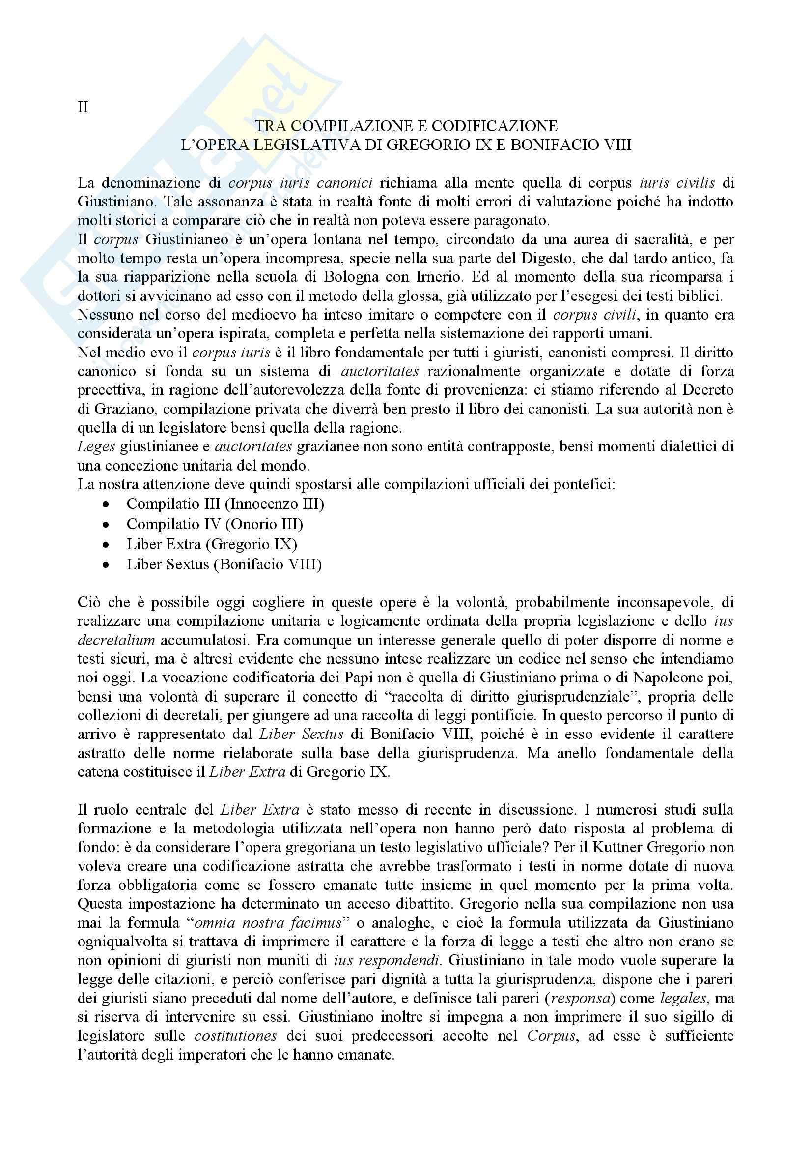 Riassunto esame Storia del Diritto Italiano, prof. Caravale, libro consigliato Saggi Storia del Diritto, Caravale