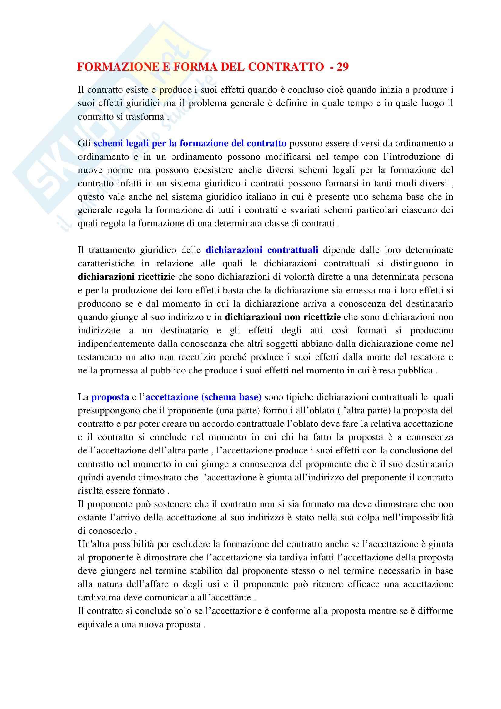 Riassunto esame Diritto Civile I, prof. Roppo, libro consigliato Il Contratto