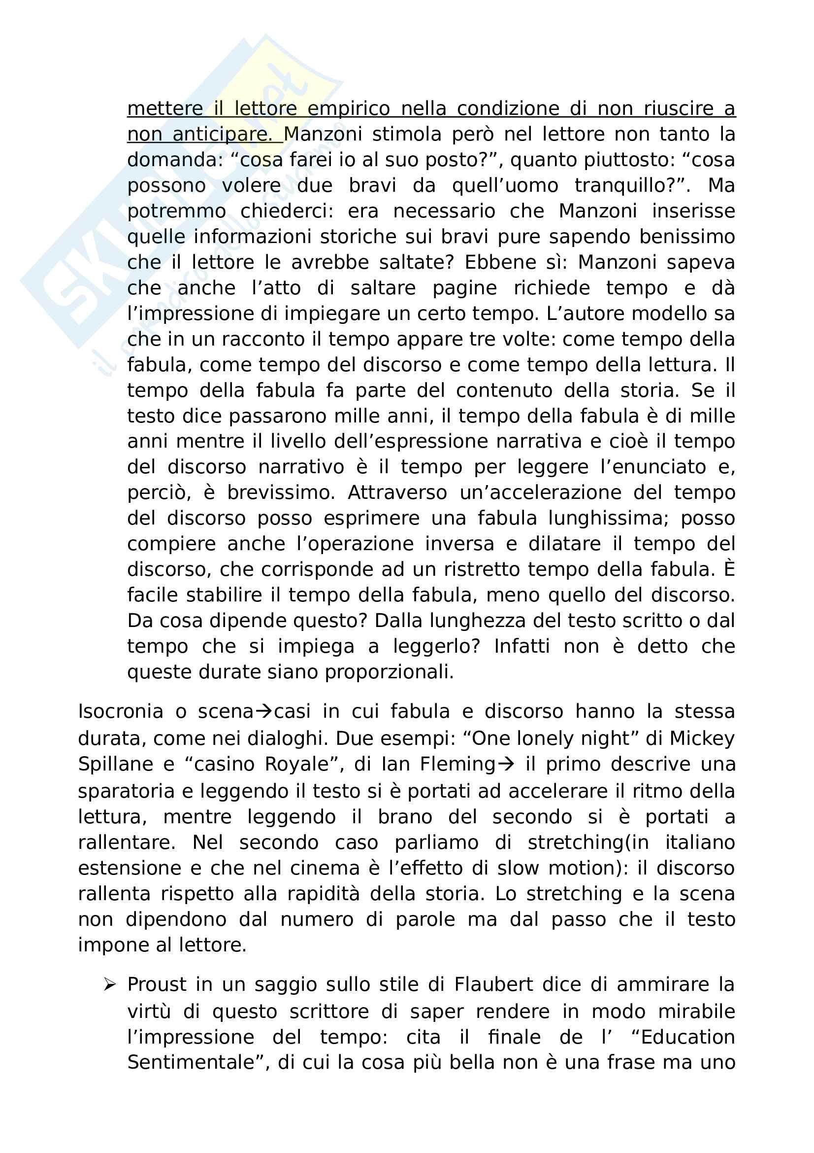 Riassunto esame Semiotica e analisi del testo narrativo, prof. Pisanty, libro consigliato Sei passeggiate nei boschi narrativi, Eco Pag. 6
