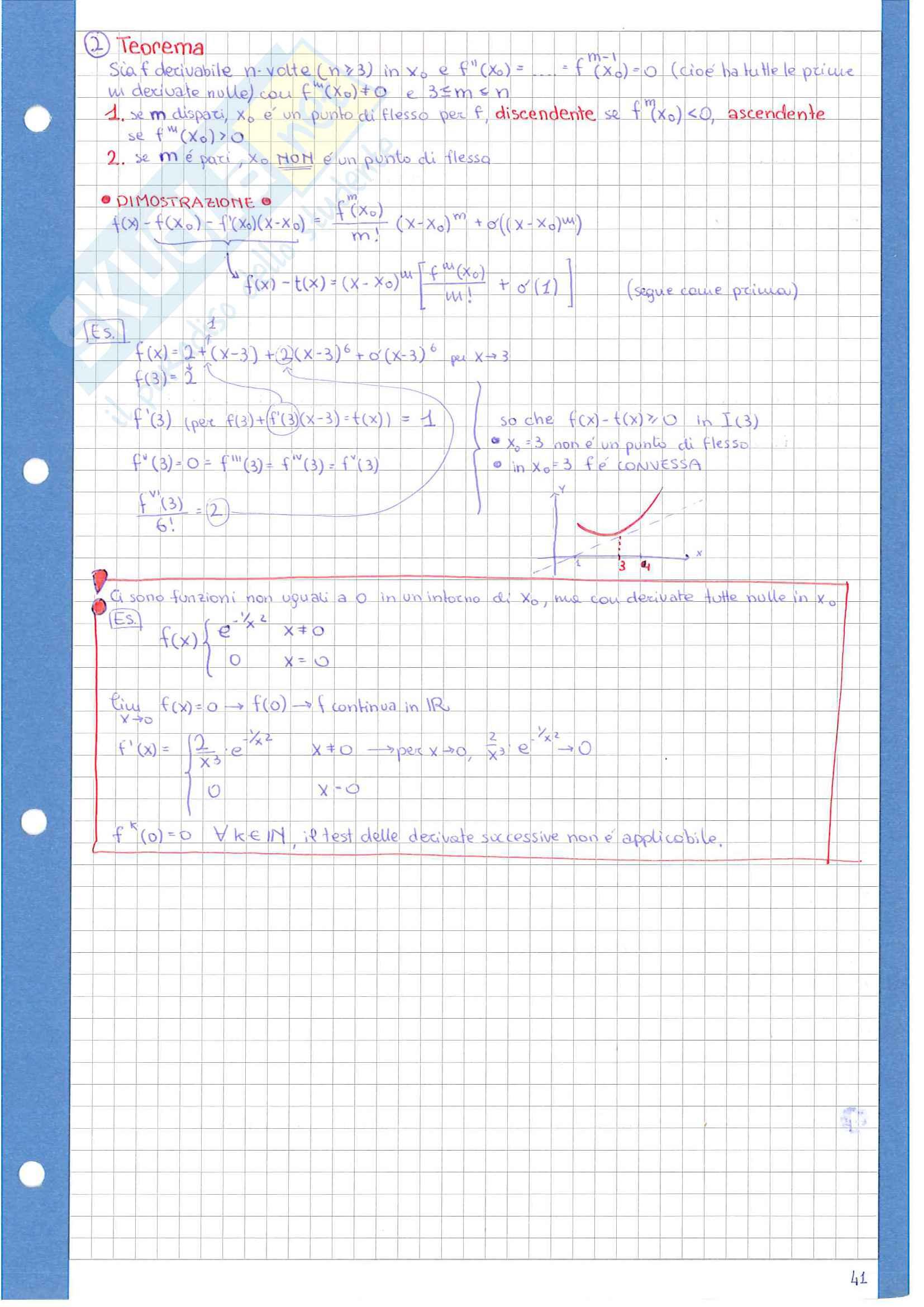 Appunti di analisi 1 Pag. 41