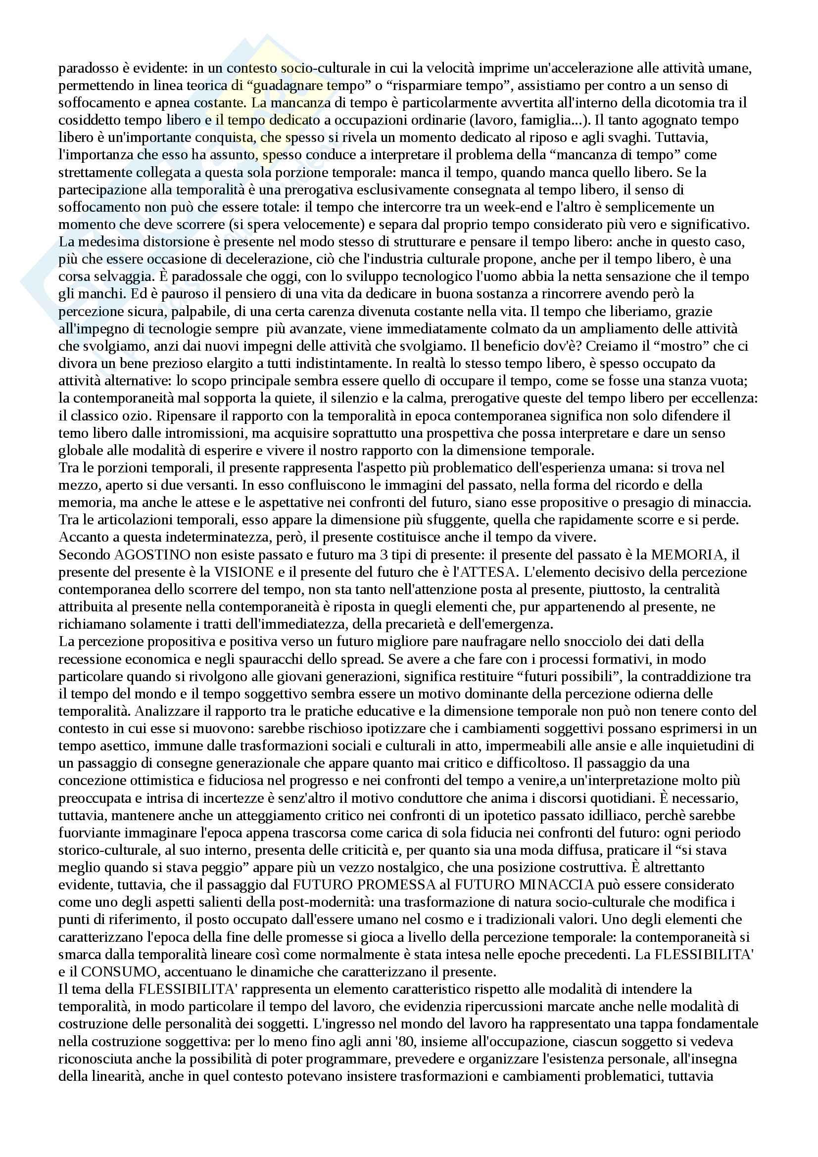 Appunti esame pedagogia generale Pag. 11