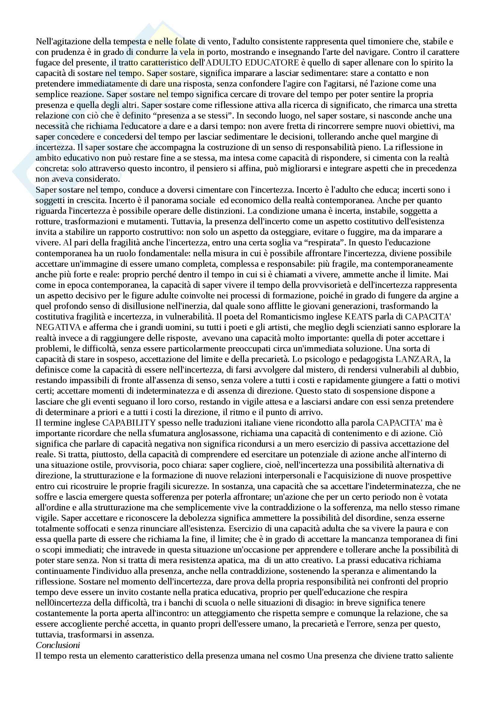 Appunti esame pedagogia generale Pag. 16