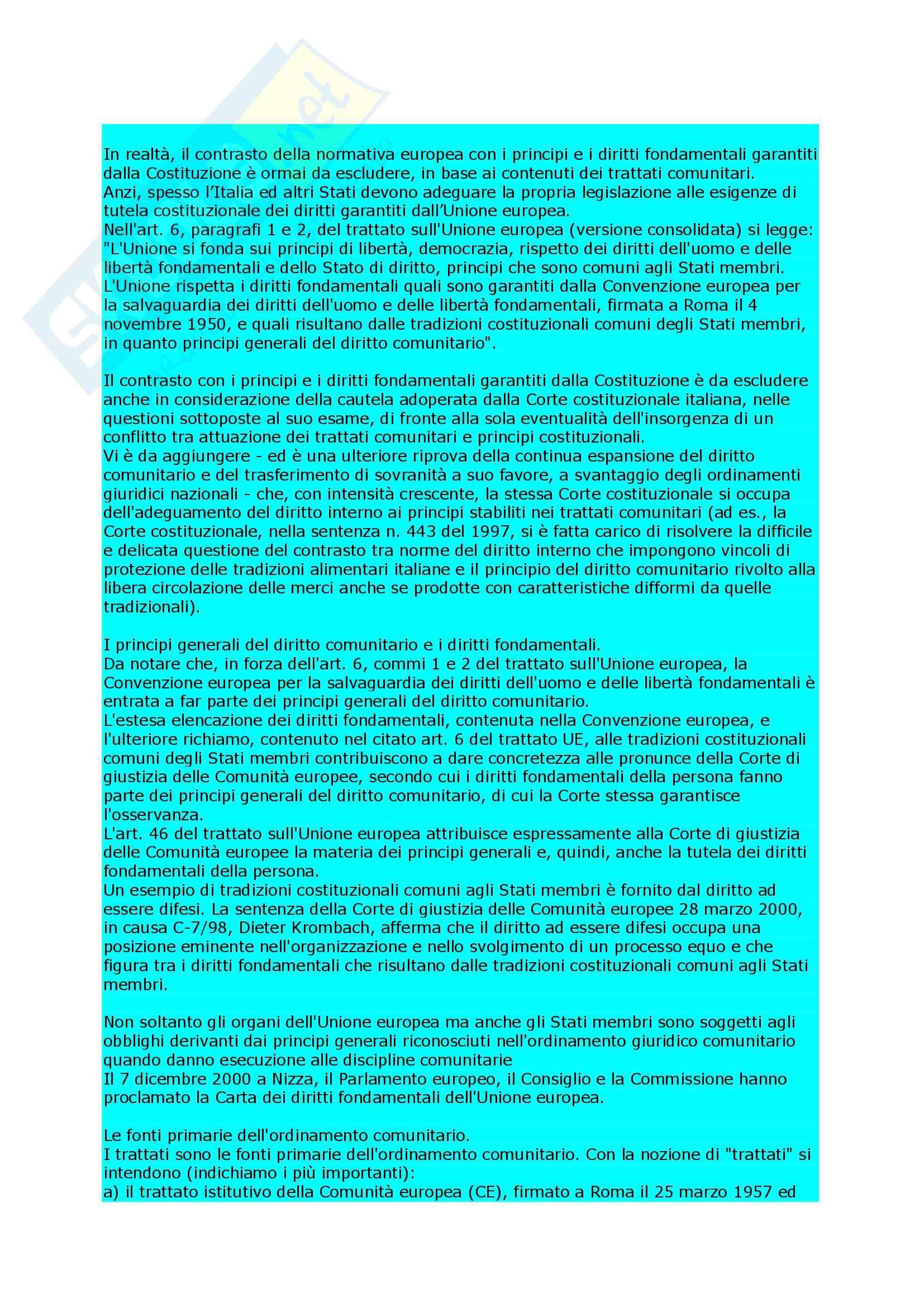 Diritto amministrativo - nozioni Pag. 6