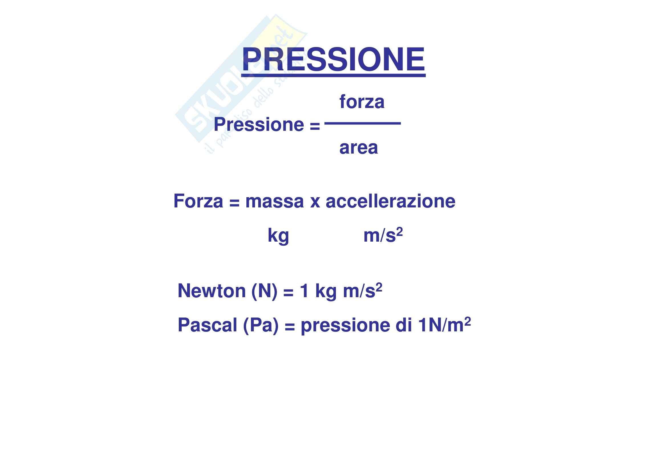 Propedeutica biochimica - proprietà dei gas Pag. 2