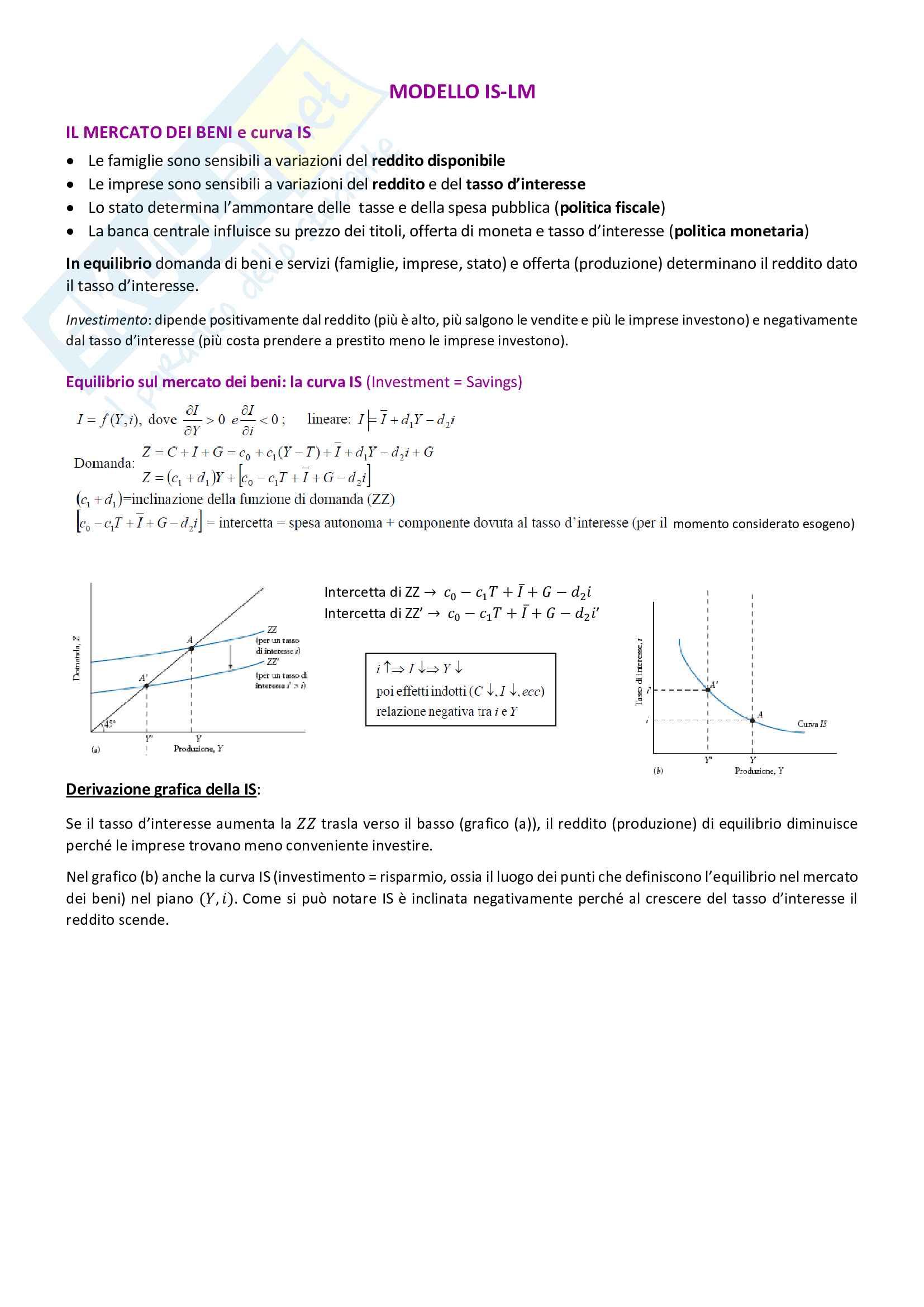 Appunti di macroeconomia Pag. 26