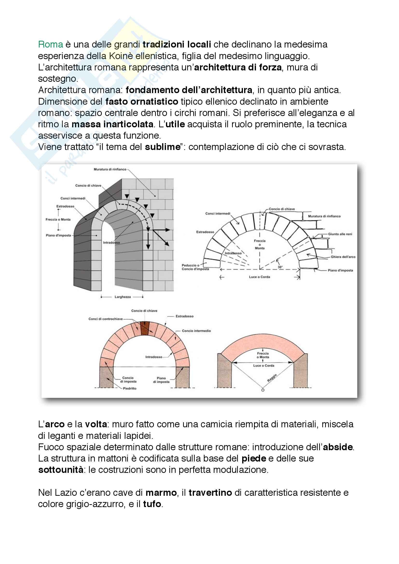 20 L'architettura romana
