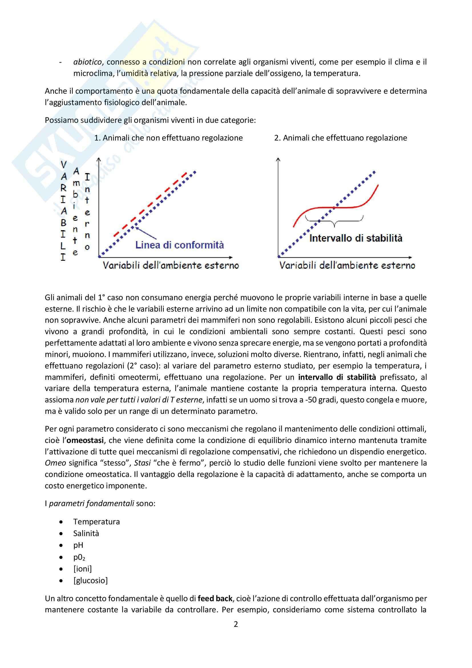 Lezioni, Fisiologia generale Pag. 2