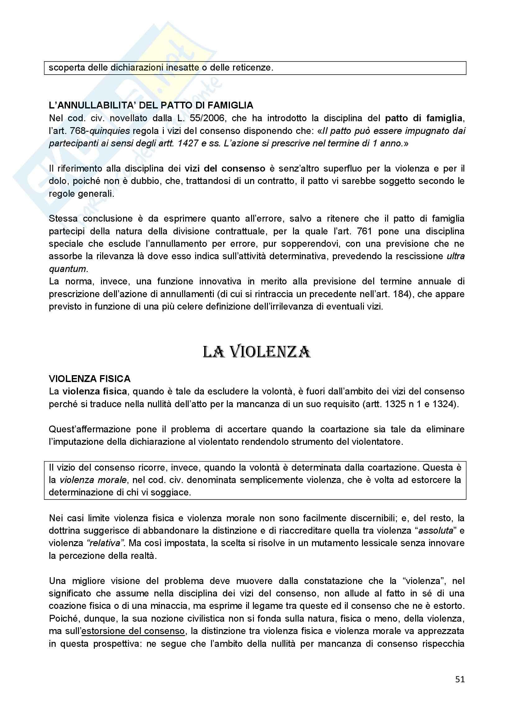Riassunto esame Diritto Civile II, prof. Scannicchio, libro consigliato Trattato del Contratto, Roppo Pag. 51