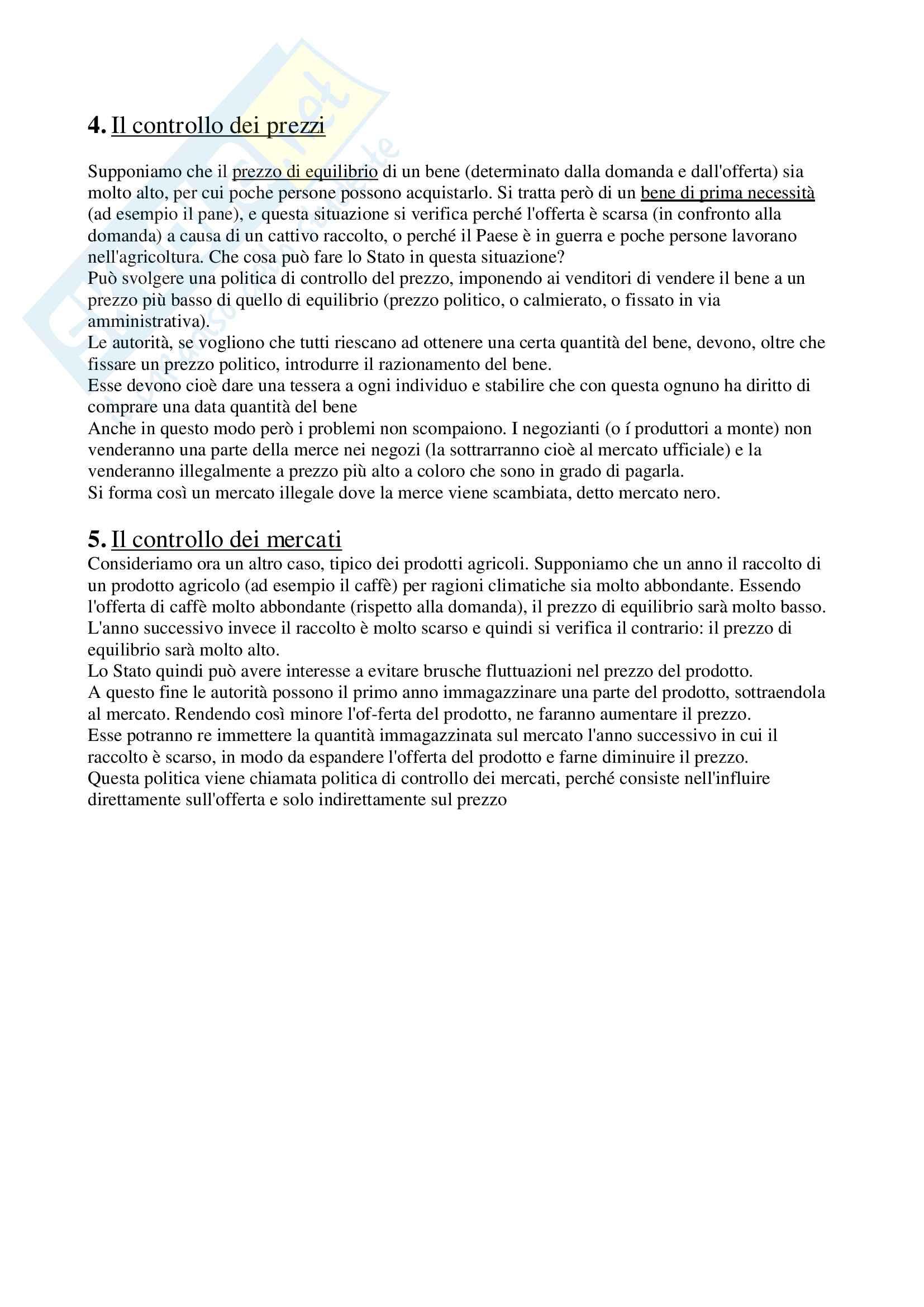 Riassunti con grafici di Economia Politica (sia Micro che Macro) Pag. 36