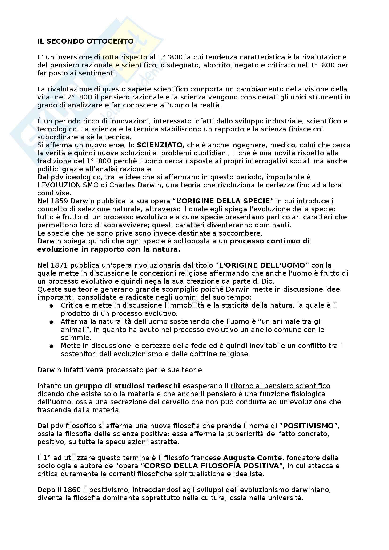 appunto D. Padua Letteratura italiana
