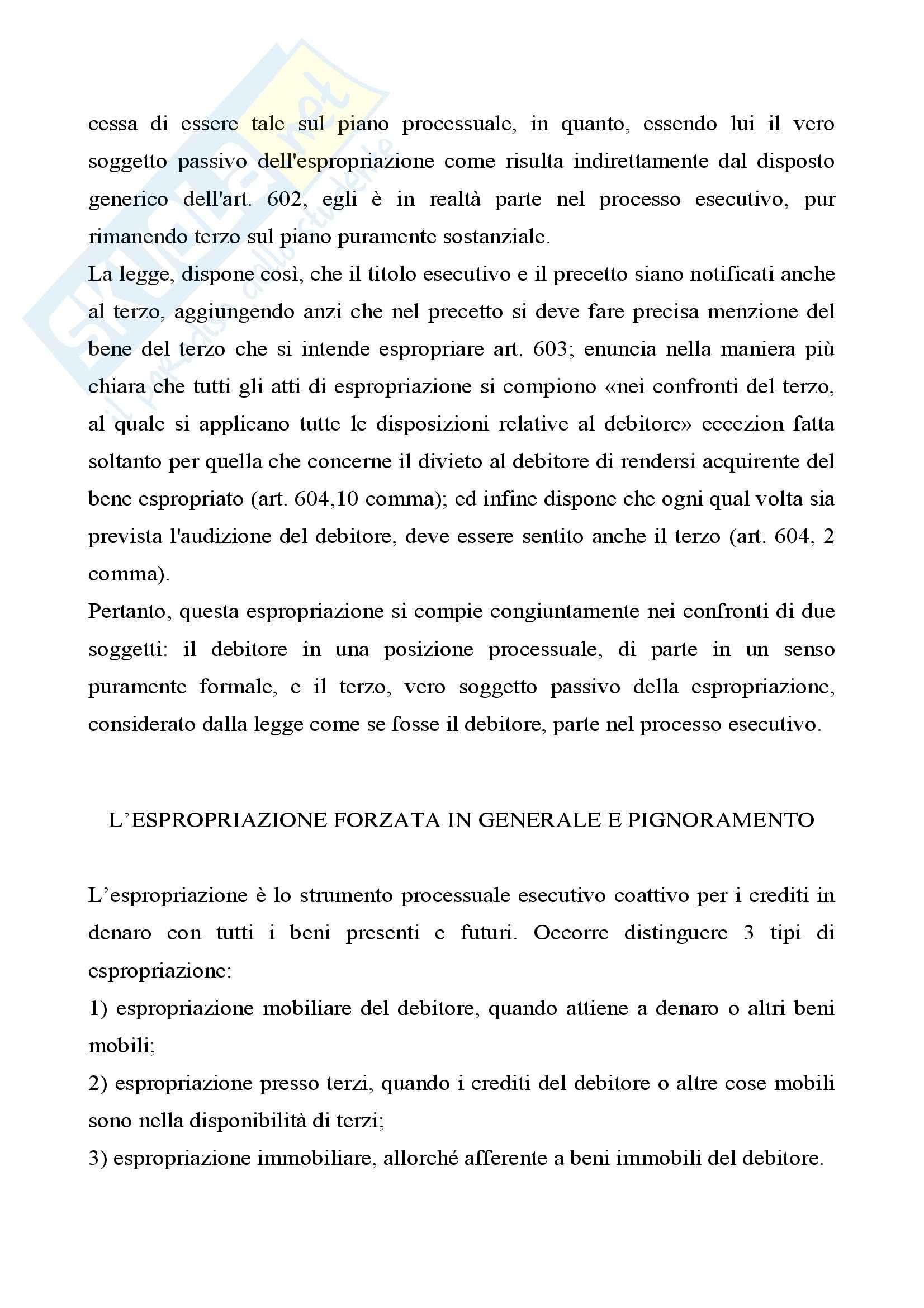 Diritto processuale civile - l'esecuzione per consegna o rilascio Pag. 16