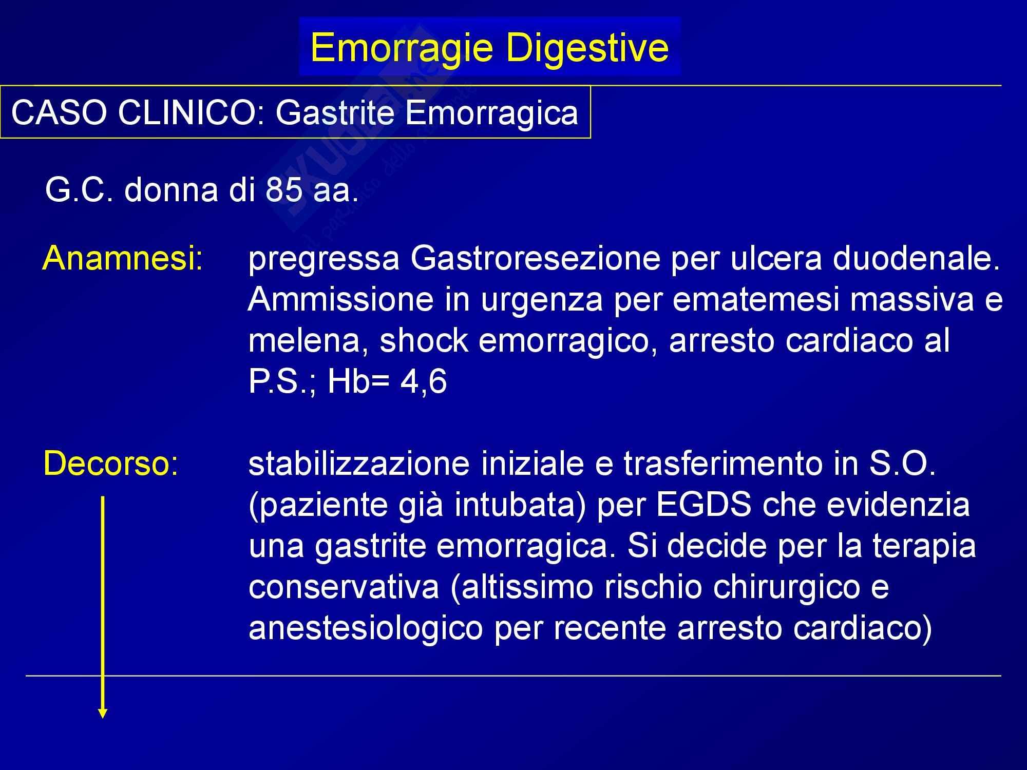 Chirurgia generale - emorragie digestive Pag. 46
